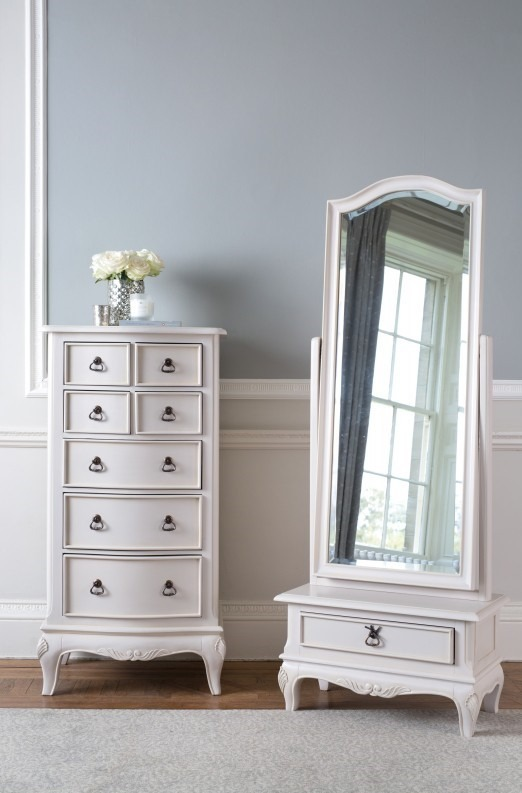 CLAREMONT CHEST AND MIRROR