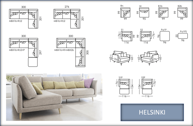 HELSINKI CORNER AND CHAIR DETAILS PAGE