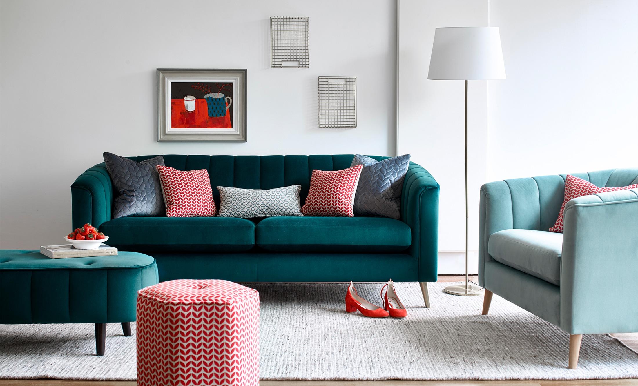FABRIC SOFAS - Alderford Interiors