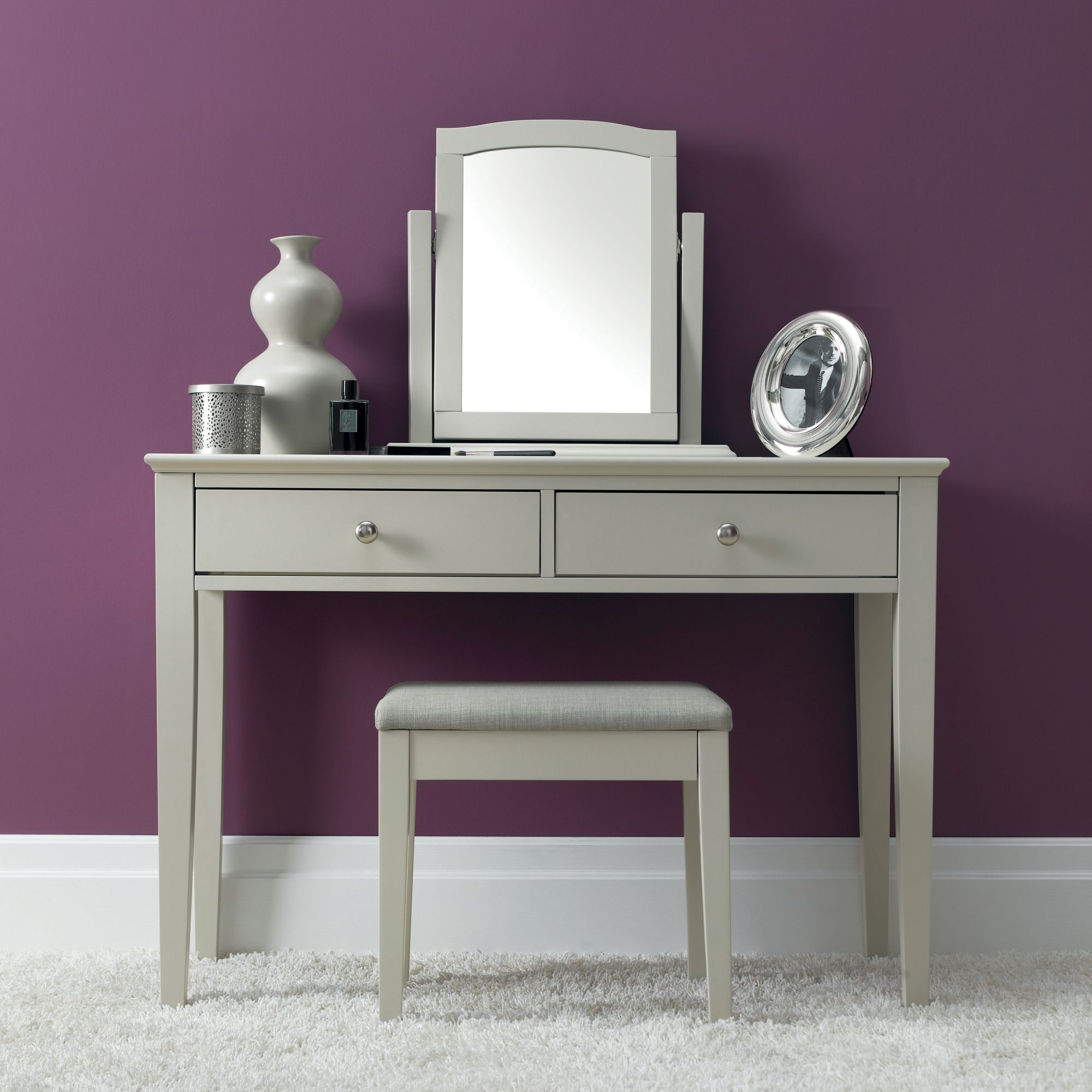 ashley soft grey vanity unit