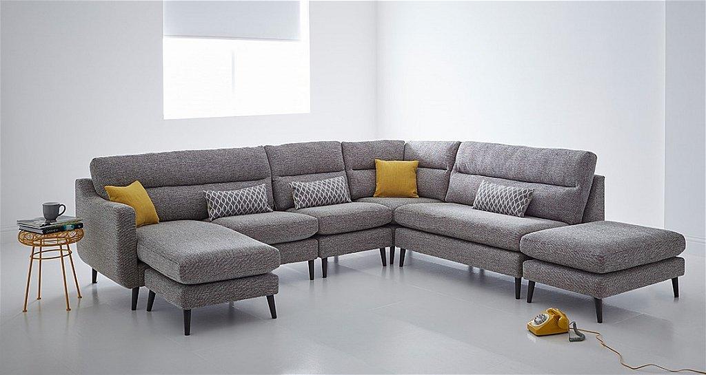 malmo corner sofa open end