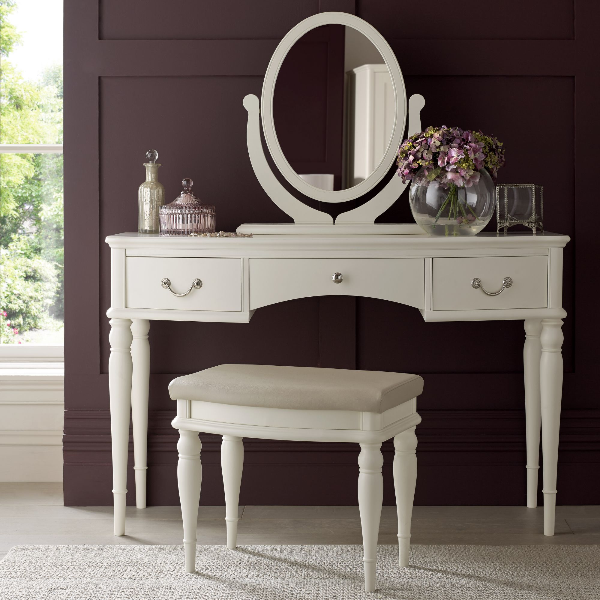 vanity unit paris ivory