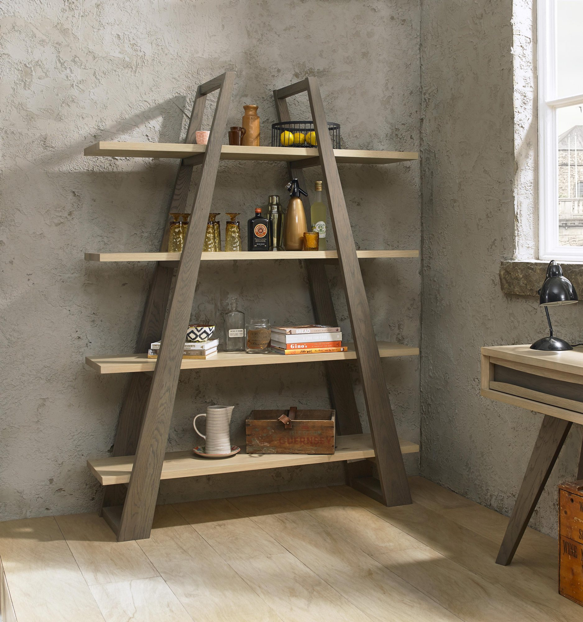 CARELL OPEN BOOKCASE