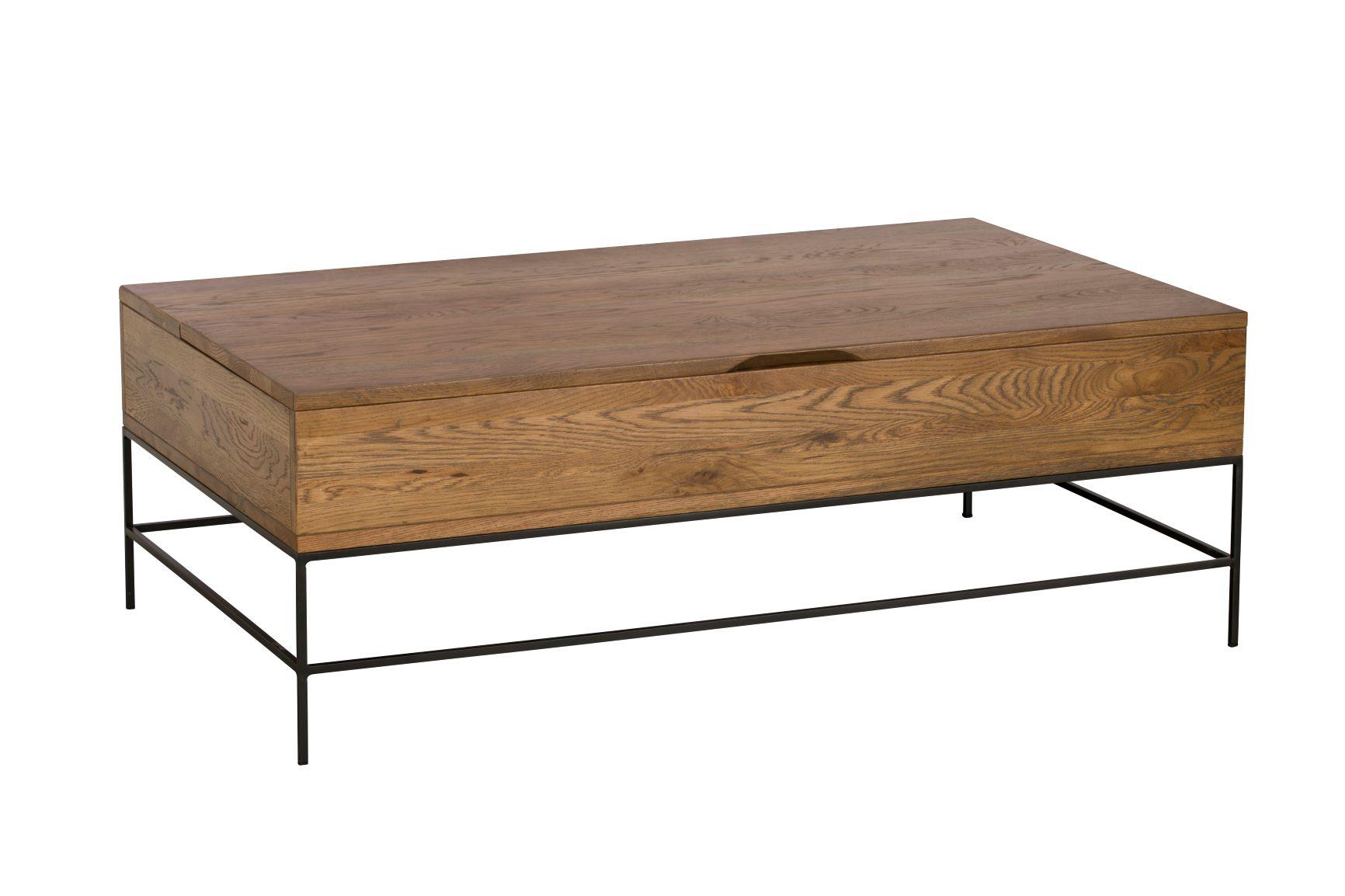 CARTER COFFEE TABLE - L122cm x D71cm x H42.5cm