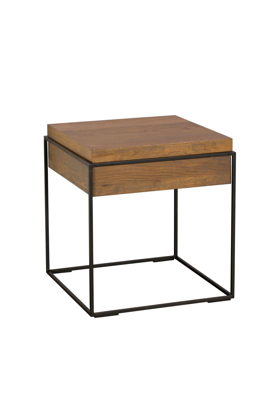 CARTER LAMP TABLE - L47cm x D47cm x H51cm