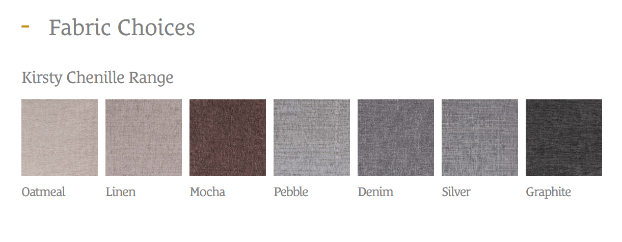 KINGKOIL FABRIC OPTIONS (2)