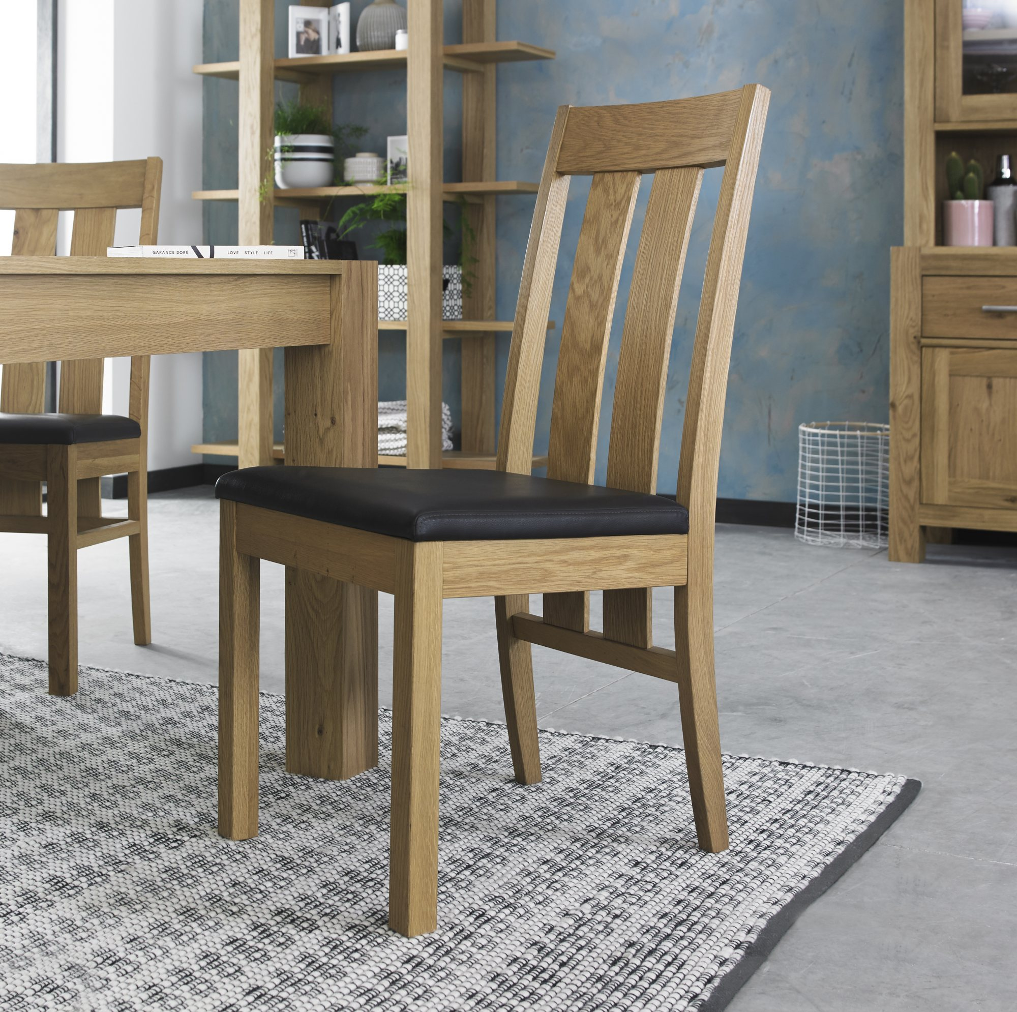 LILLE OAK SLATT CHAIR