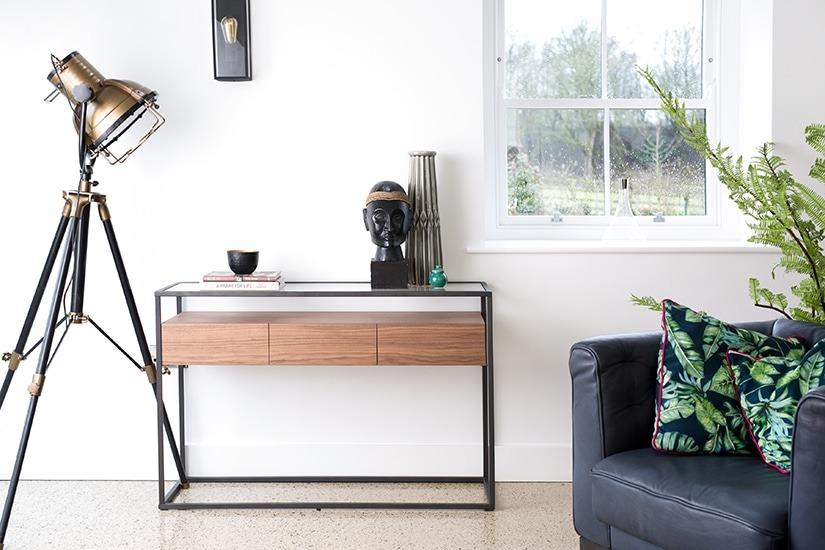 PADORA CONSOLE TABLE L120cm x D40cm x H80cm