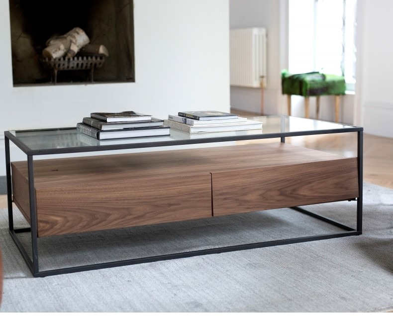 PANDORA COFFEE TABLE L120cm x D60cm x H40cm