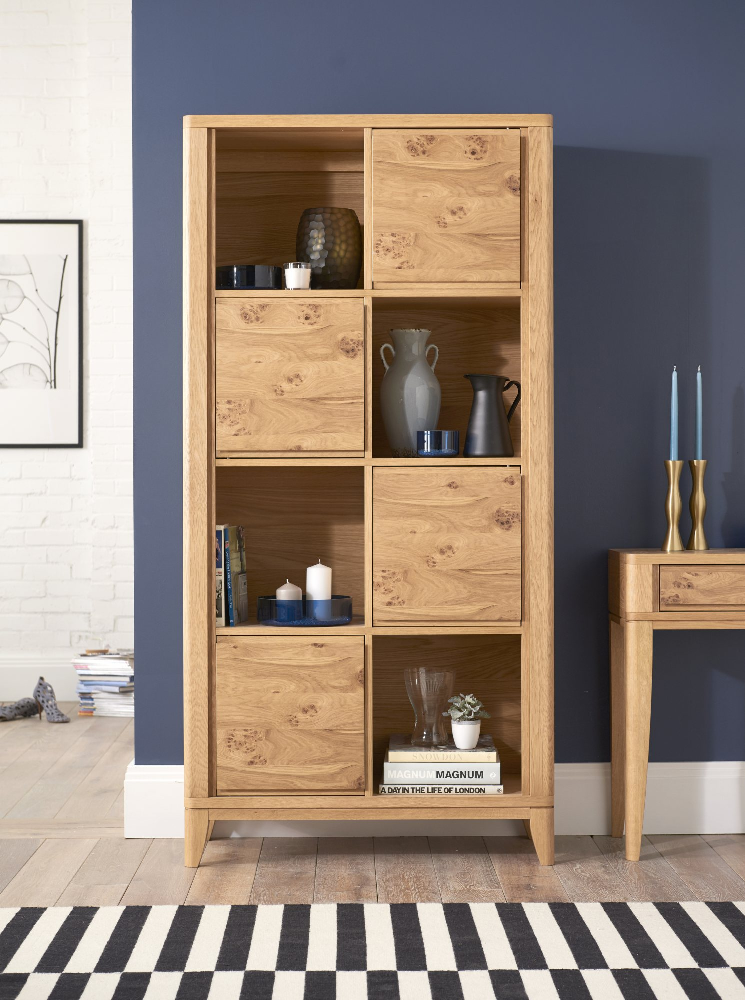 WILLOW PARK BOOKCASE - L95cm x D38cm x H192cm
