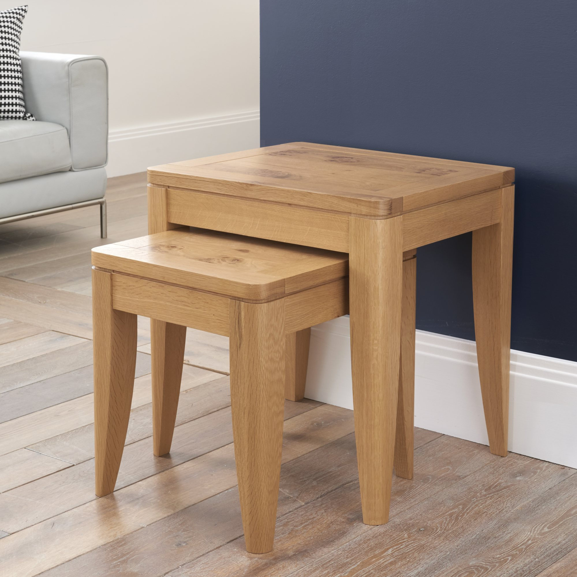 WILLOW PARK NEST OF TABLES L55cm x D45cm x H56cm
