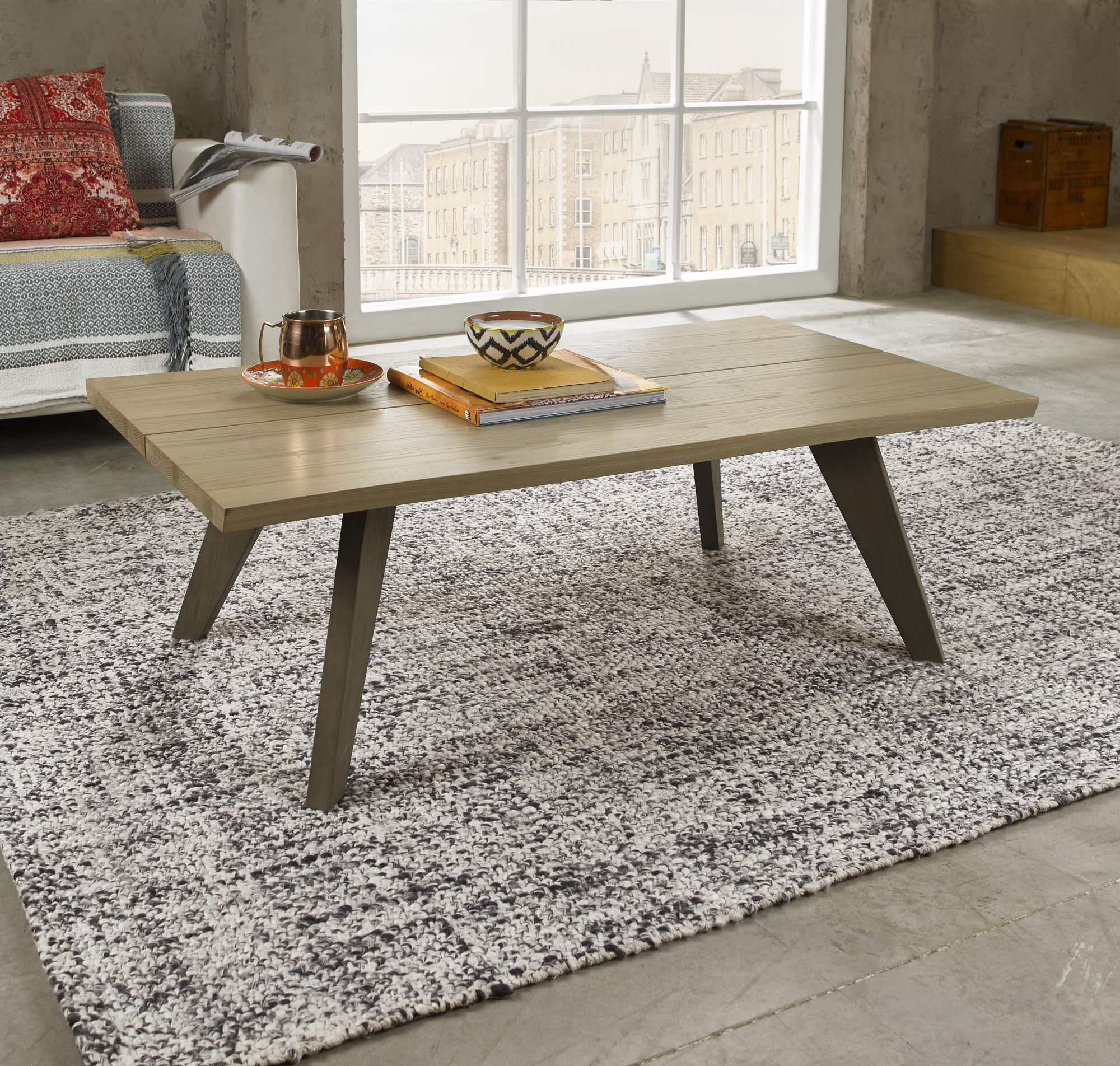 CARELL COFFEE TABLE - L121cm x D70cm x H40cm