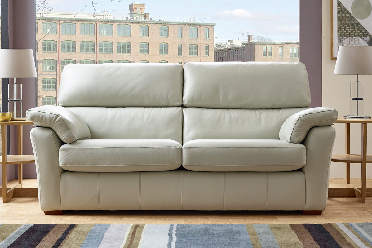 HILDA SOFA IN LEATHER