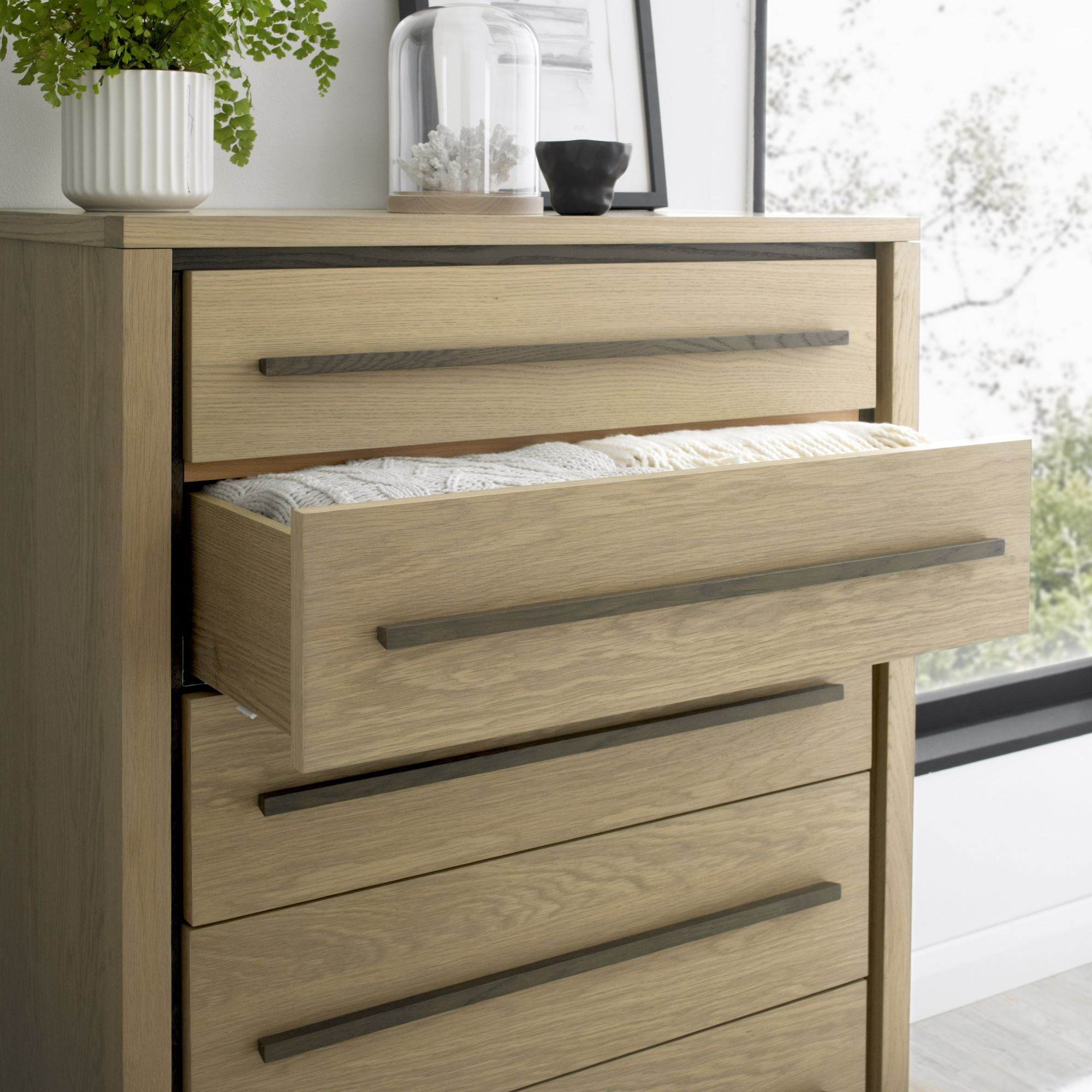 CARRELL TALL CHEST - DRAWER DETAIL