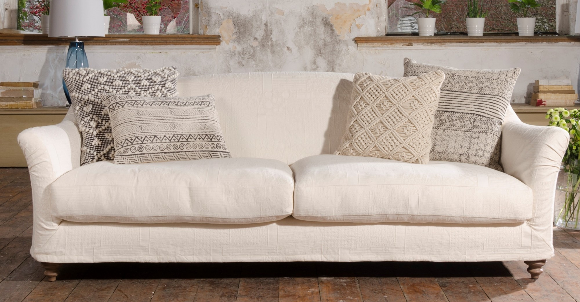 TETRAD LOOSE COVER SOFA