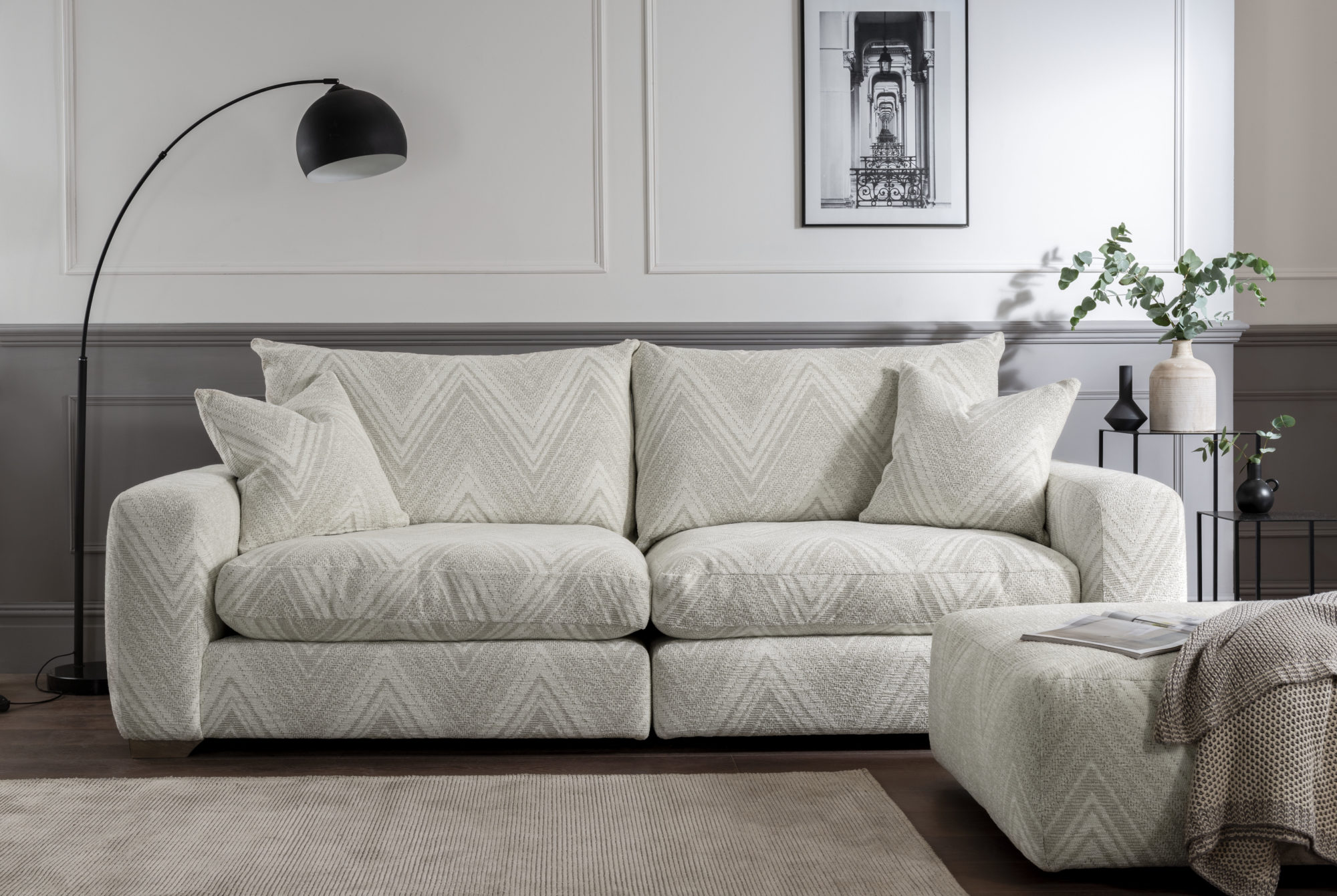 RICHMOND LARGE SOFA- L260cm x D107cm x H97cm