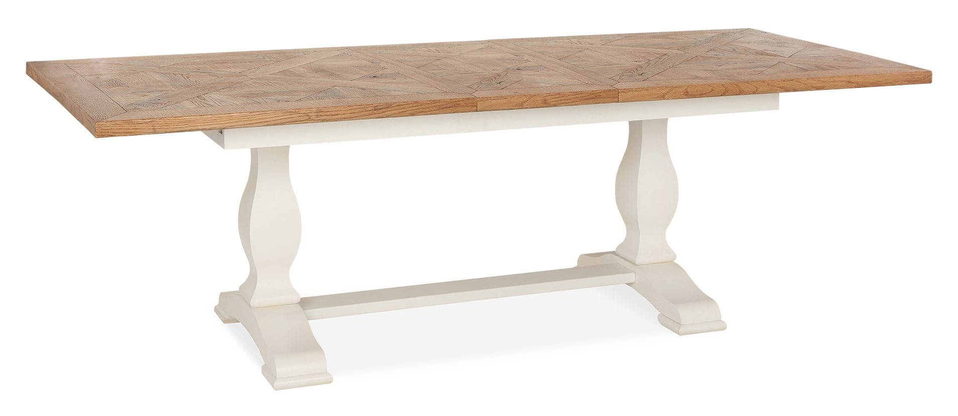 HIGHLAND DINING TABLE EXTENDED - L240cm x D100cm x H76cm