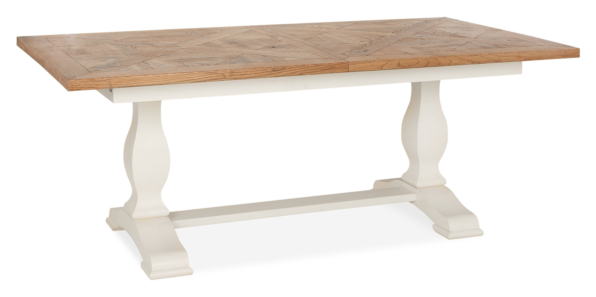 HIGHLAND EXTENDING TABLE CLOSED - L190cm x D100cm x H76cm