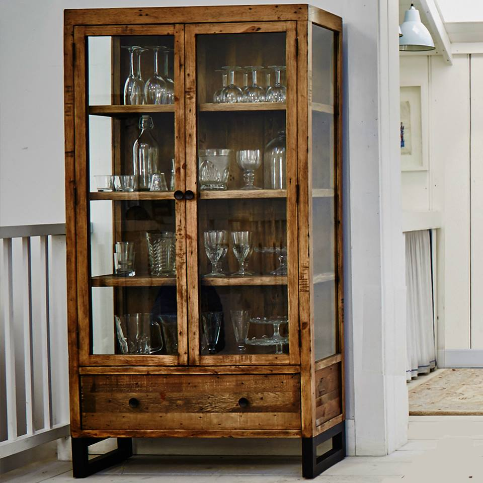 ARIZONA DISPLAY CABINET - L90cmx D38cm x H170cm