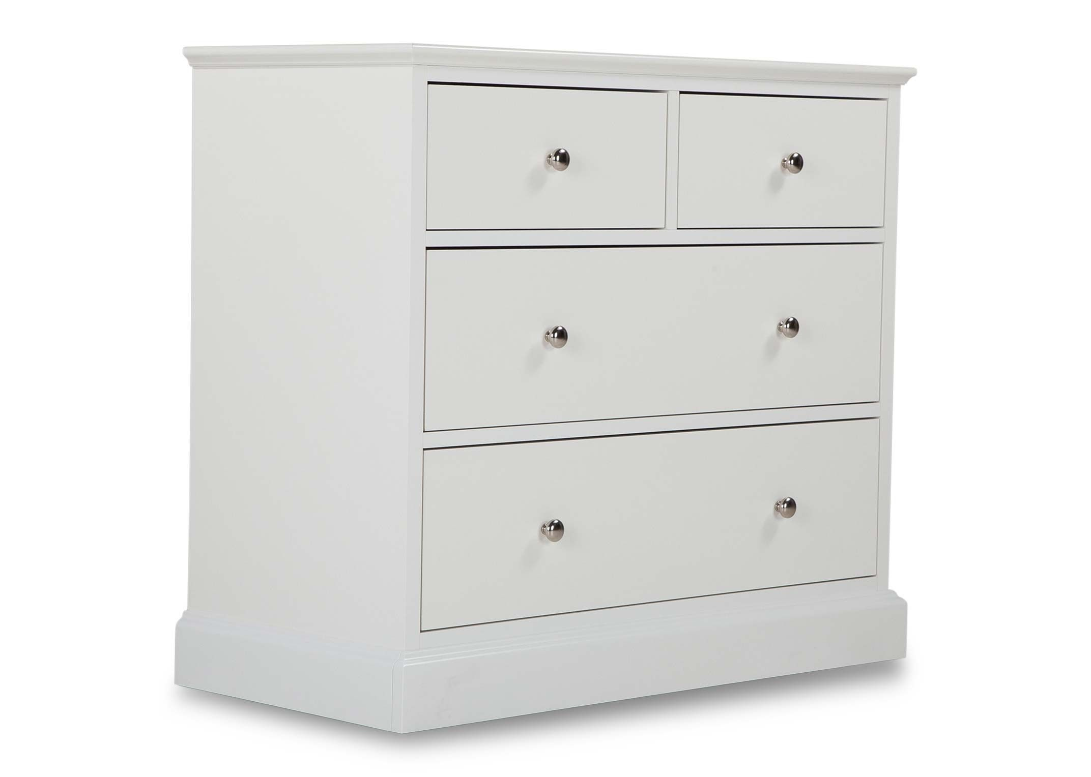 ASHLEY (GREY or WHITE) SMALL CHEST - ANGLE DETAIL