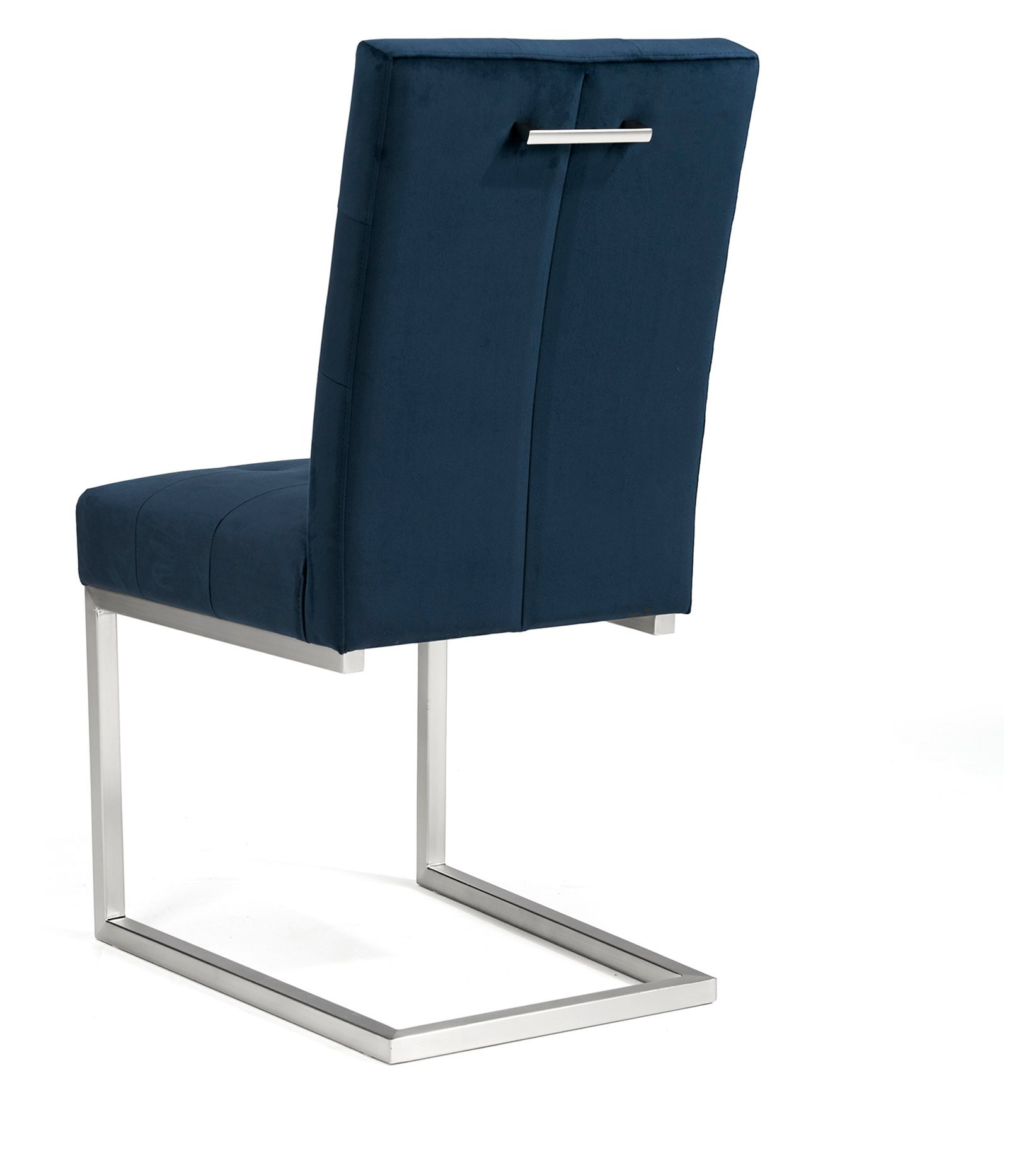 BRINDISI BLUE DINING CHAIR - BACK DETAIL