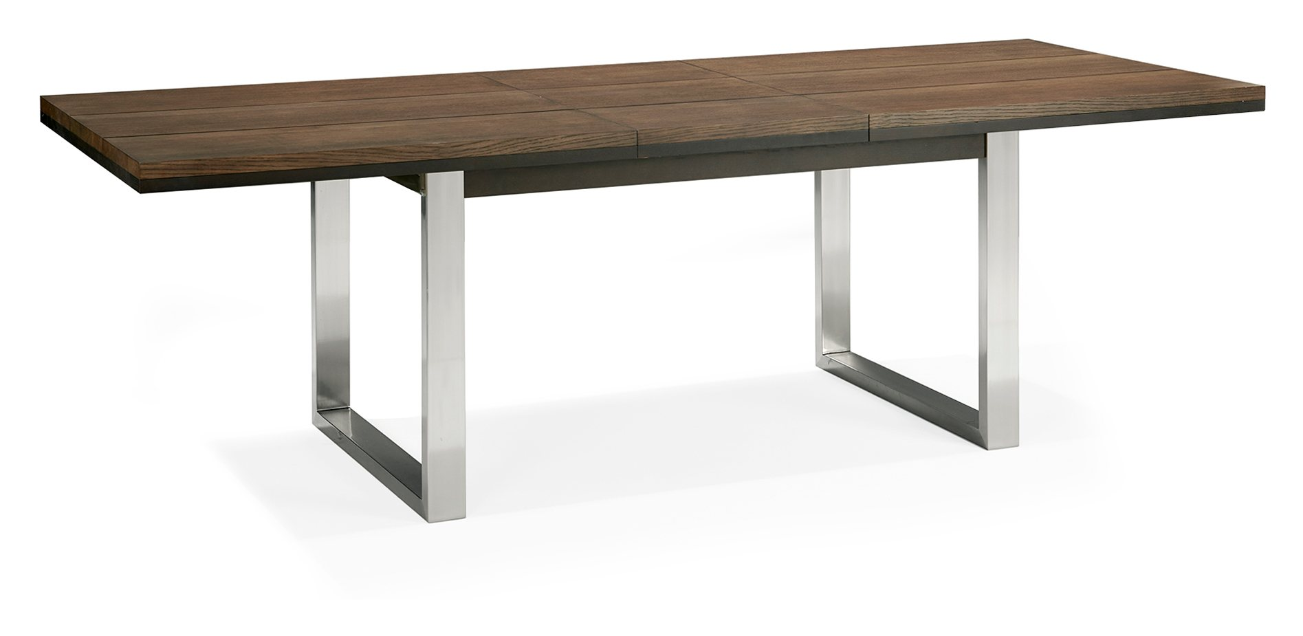 BRINDISI EXTENDING DINING TABLE OPENED - L240cm x D95cm x H77cm