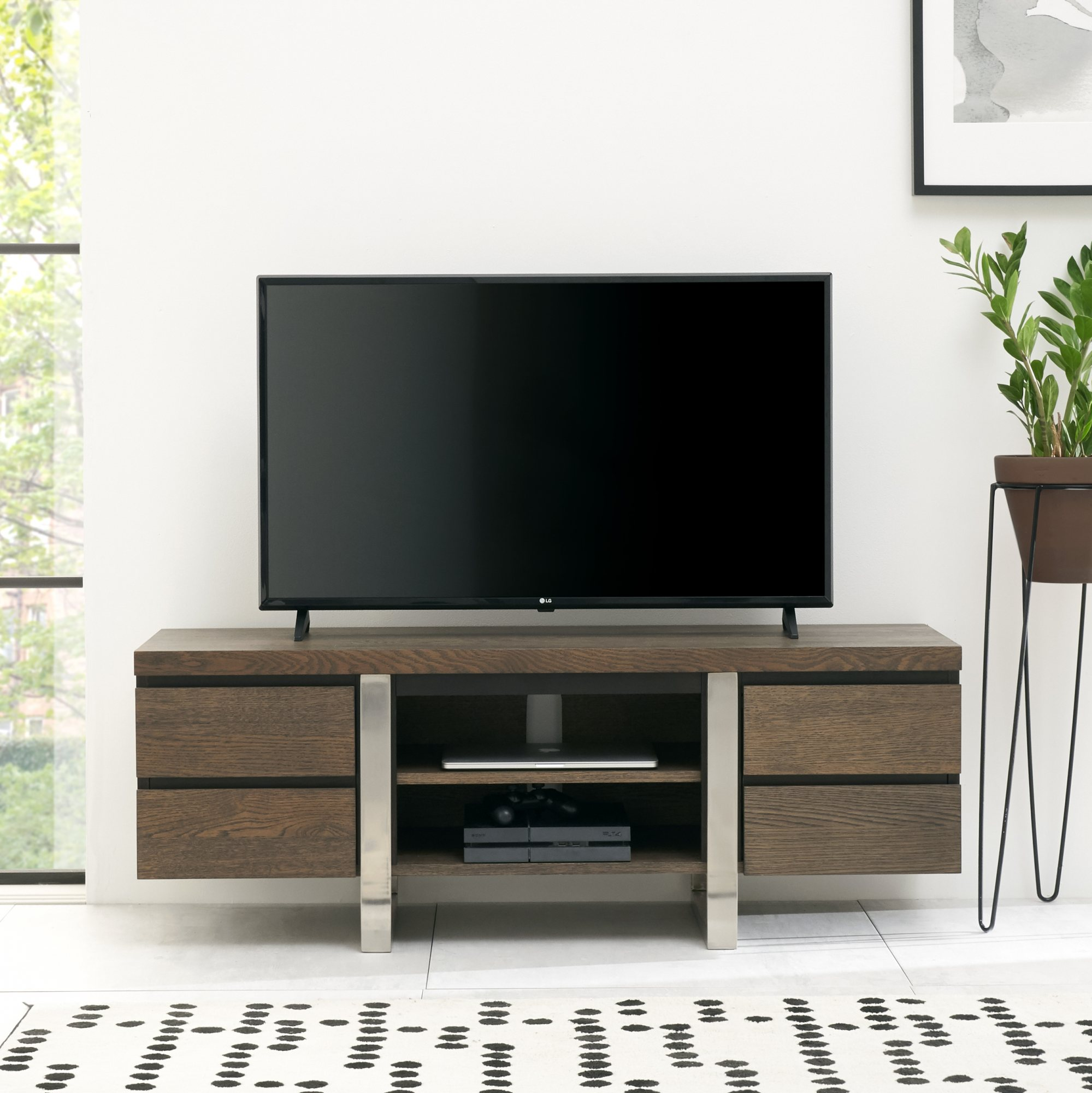 BRINDISI TV UNIT - L135cm x D43cm x H49cm