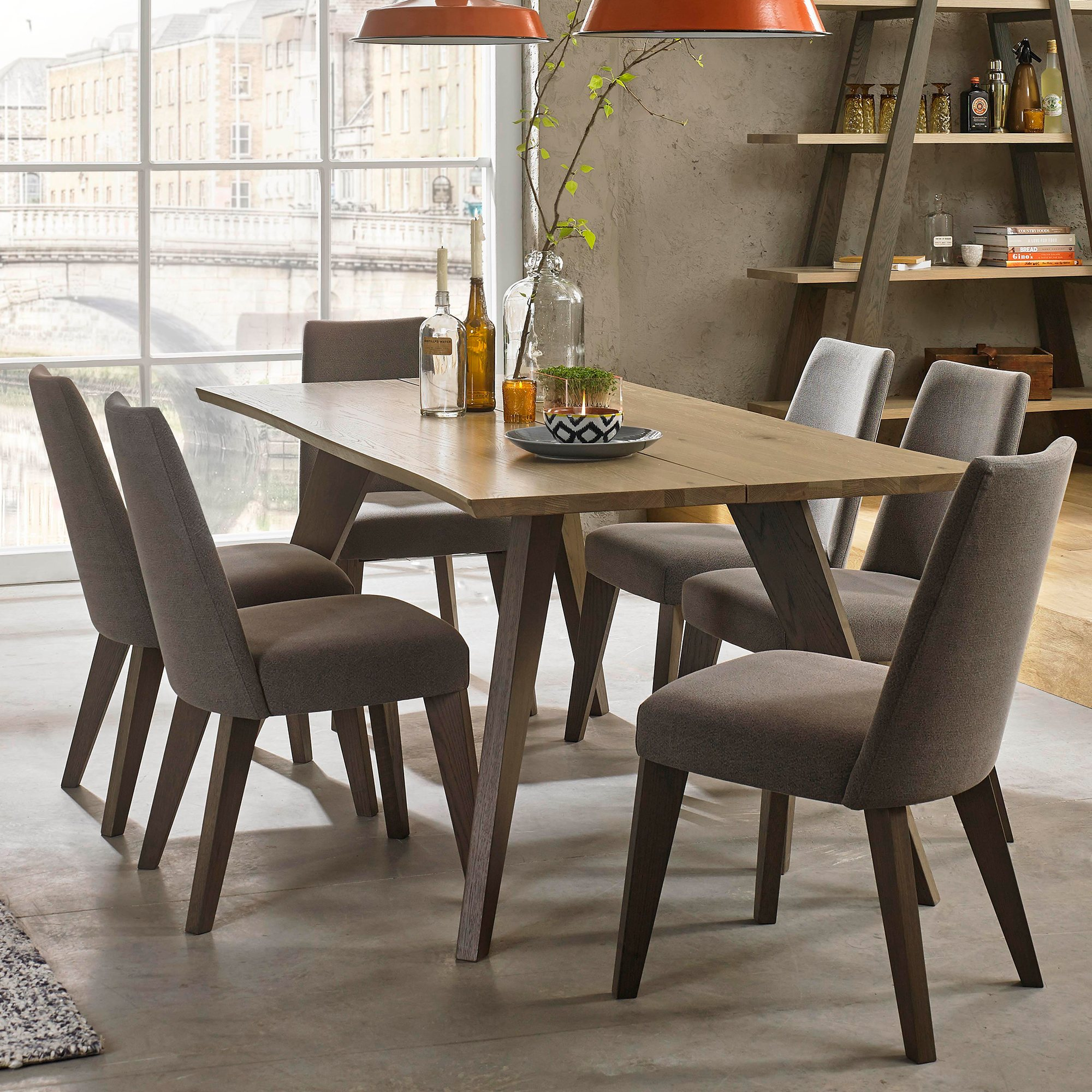 CARELL 180CM DINING TABLE - L180cm x D96cm x H77cm