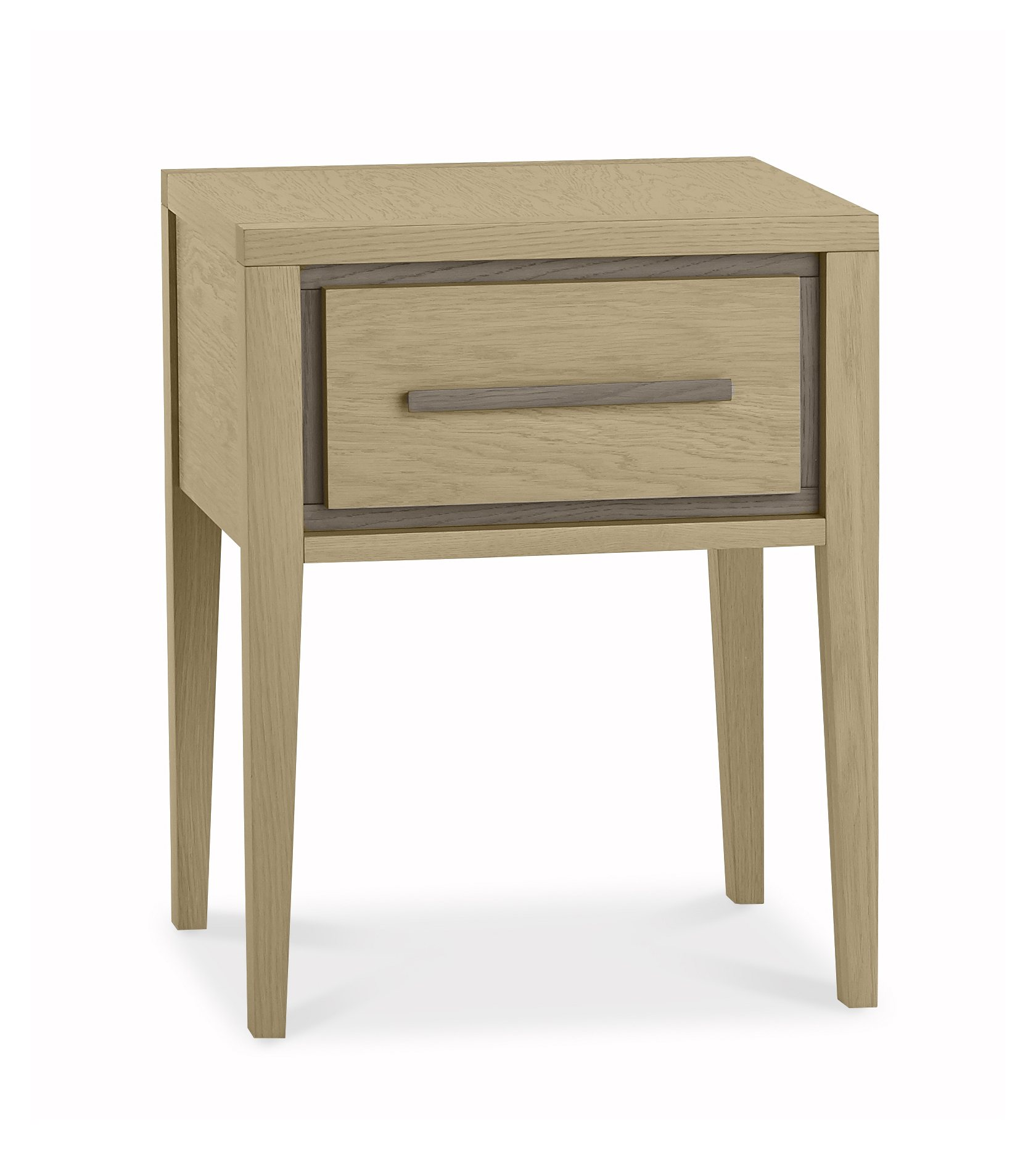 CARELL 1DR NIGHTSTAND - ANGLE DETAIL