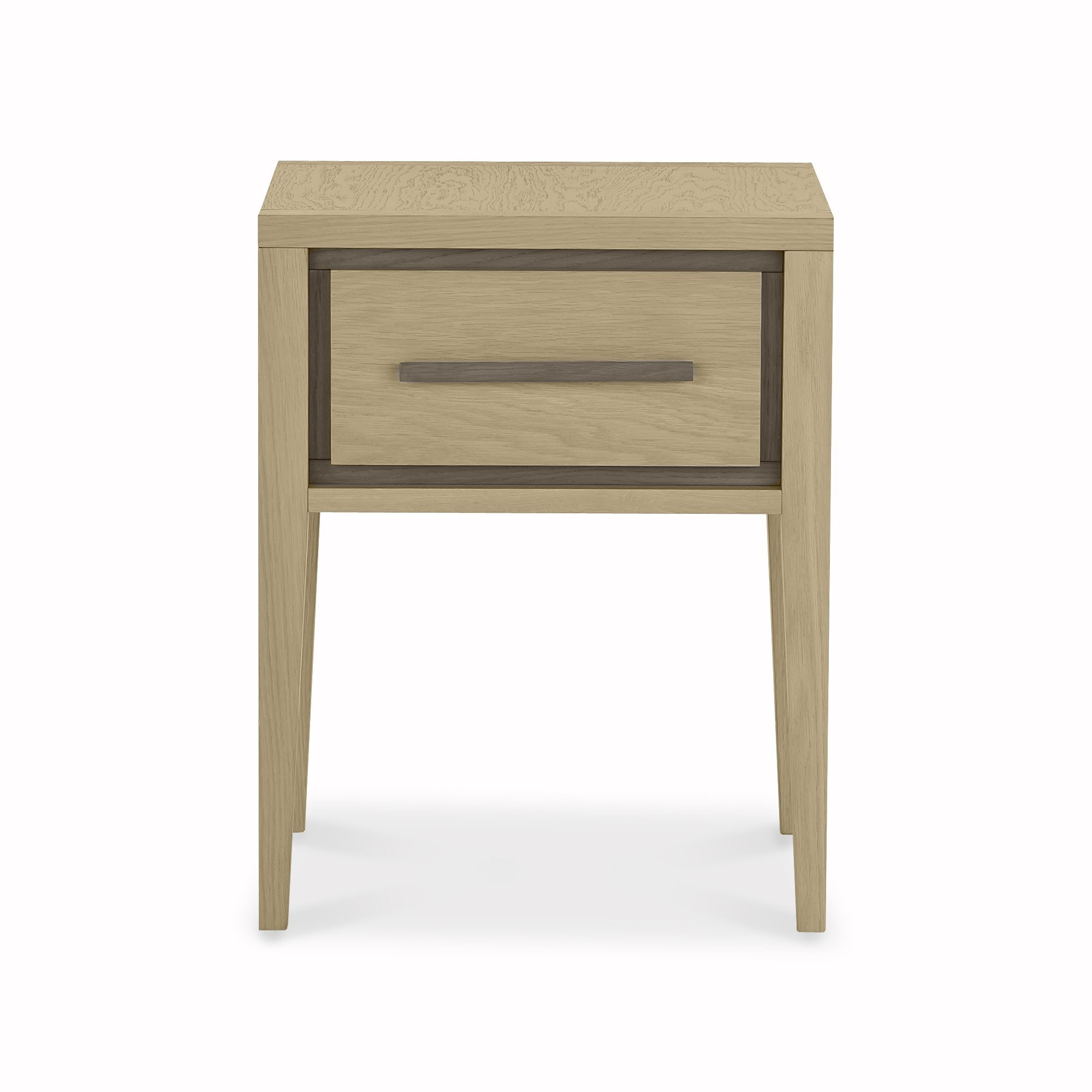 CARELL 1DR NIGHTSTAND - FRONT DETAIL