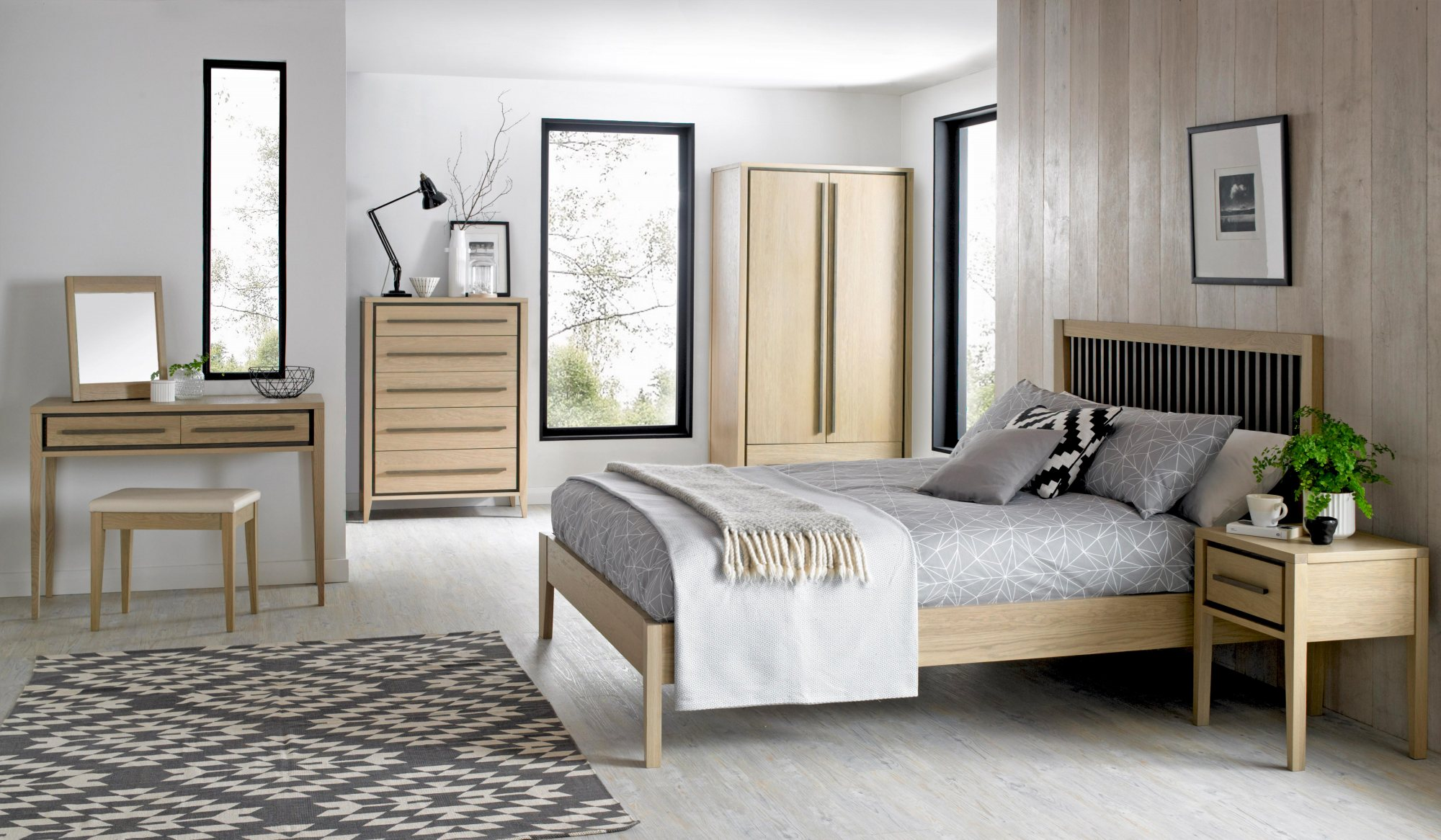 CARELL - BEDROOM SET