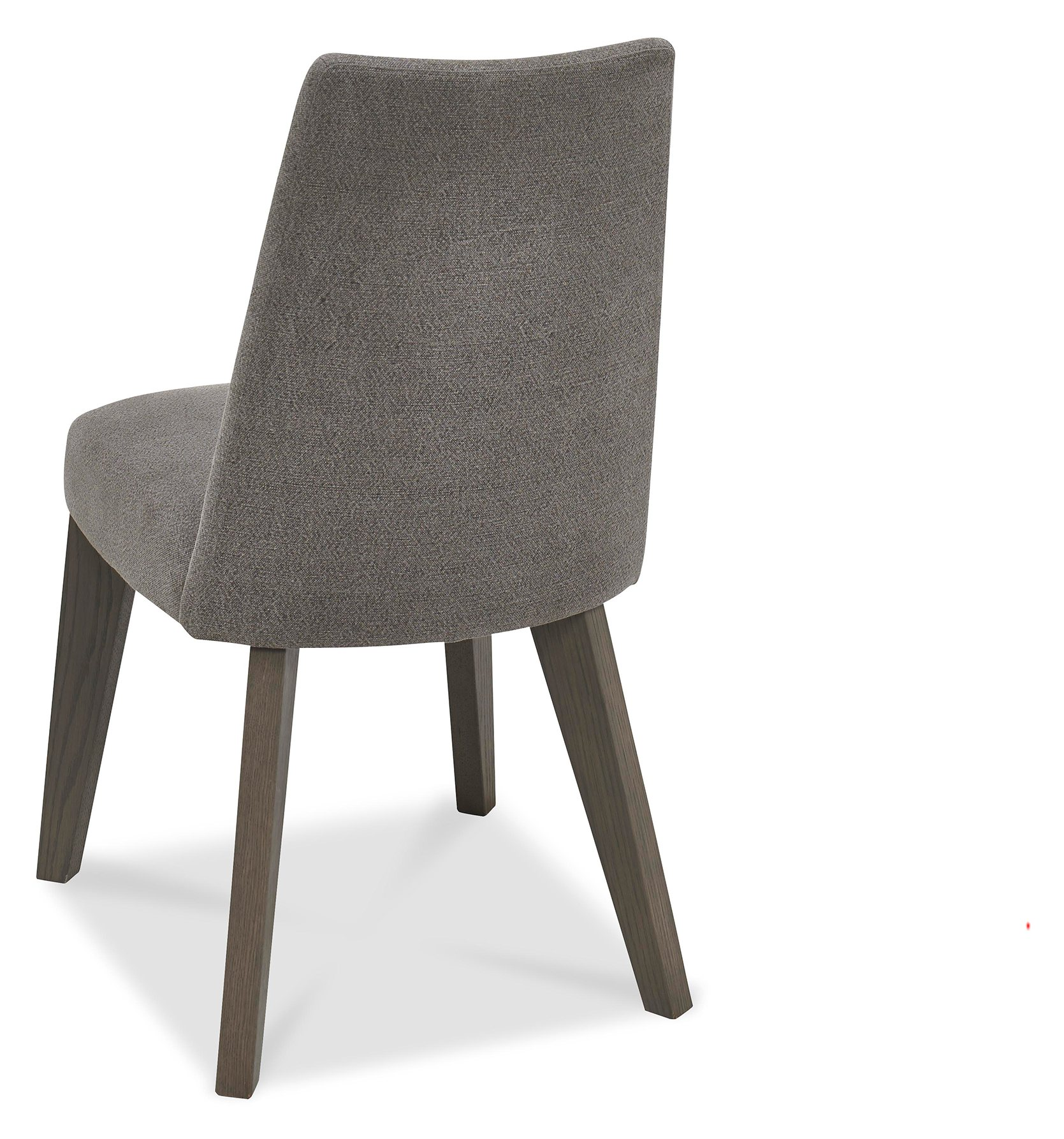 CARELL DINING CHAIR SMOKE GREY - BACK DETAIL