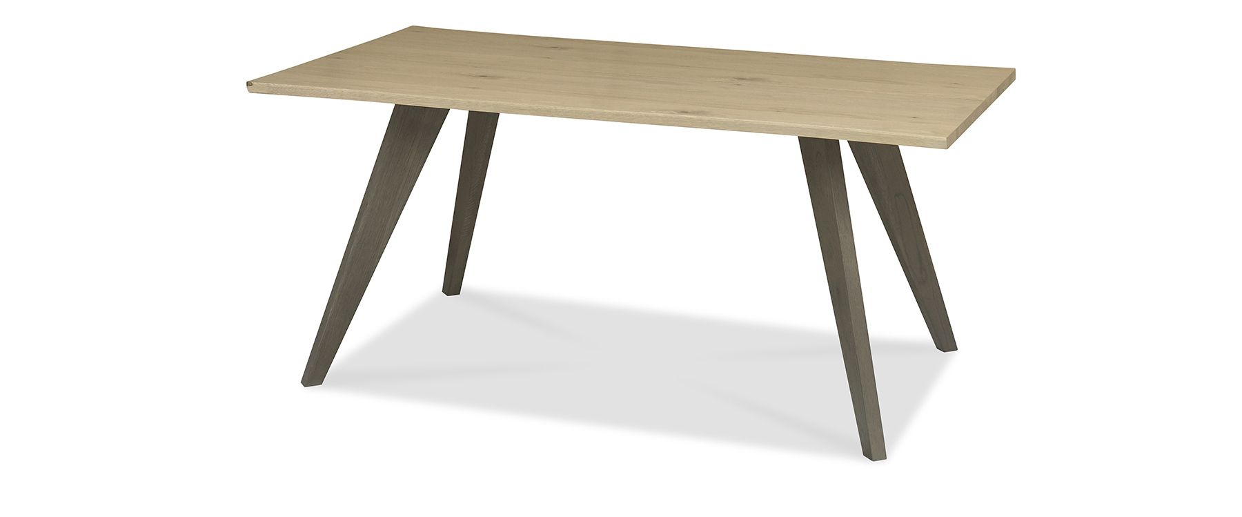 CARELL DINING TABLE - L180cm x D96cm xH77cm - ANGLE DETAIL