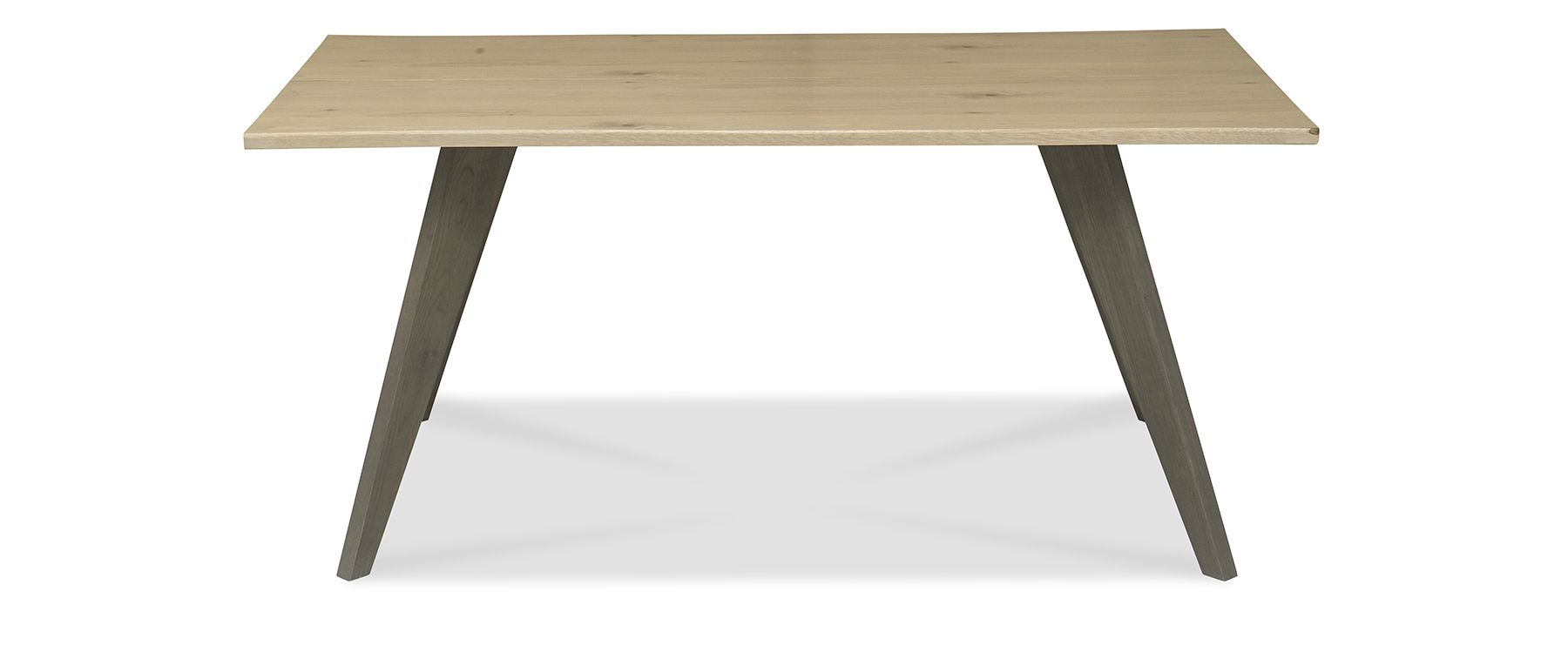 CARELL DINING TABLE - L180cm x D96cm xH77cm - FRONT DETAIL