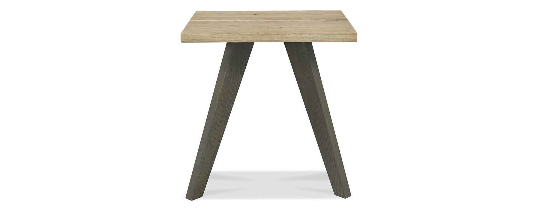 CARELL LAMP TABLE - L55cm x D50cm xH52cm - FRONT DETAIL