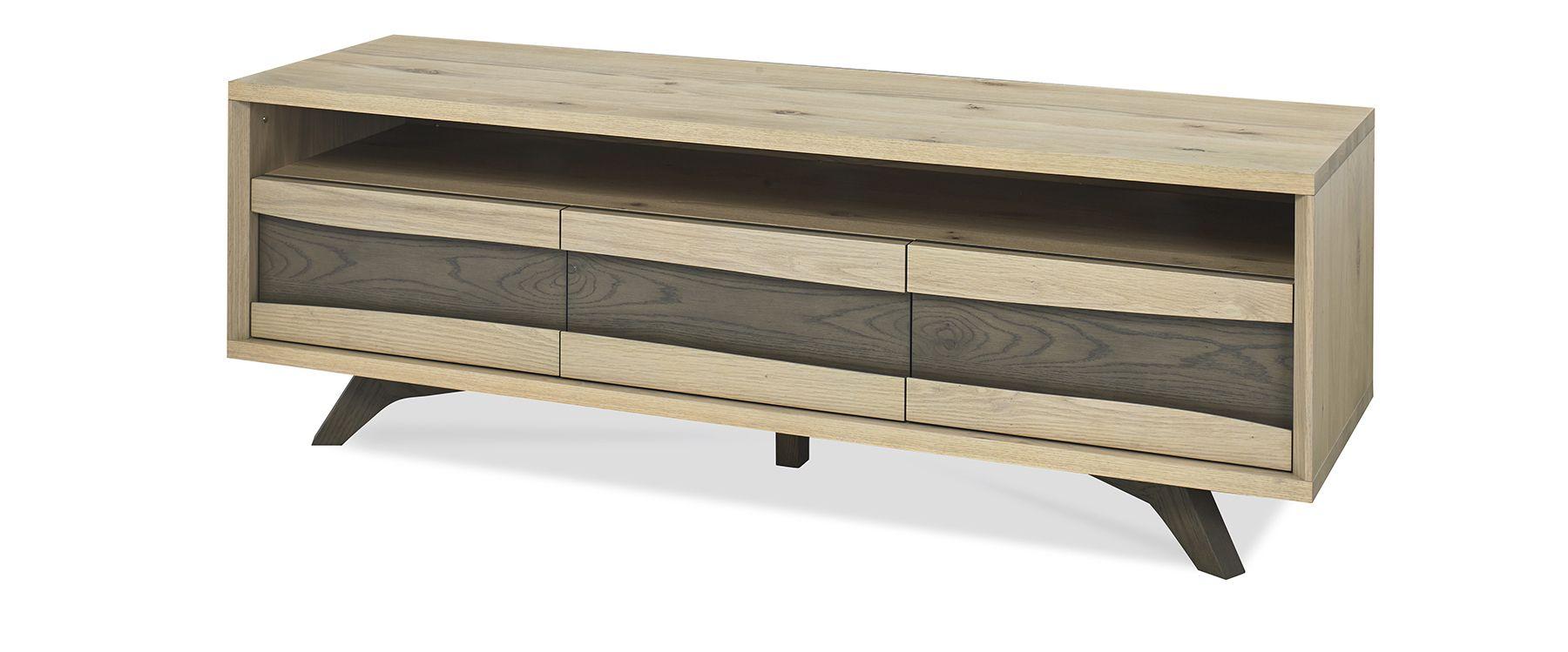 CARELL TV UNIT - L150cm x D45cm xH51cm - ANGLE DETAIL
