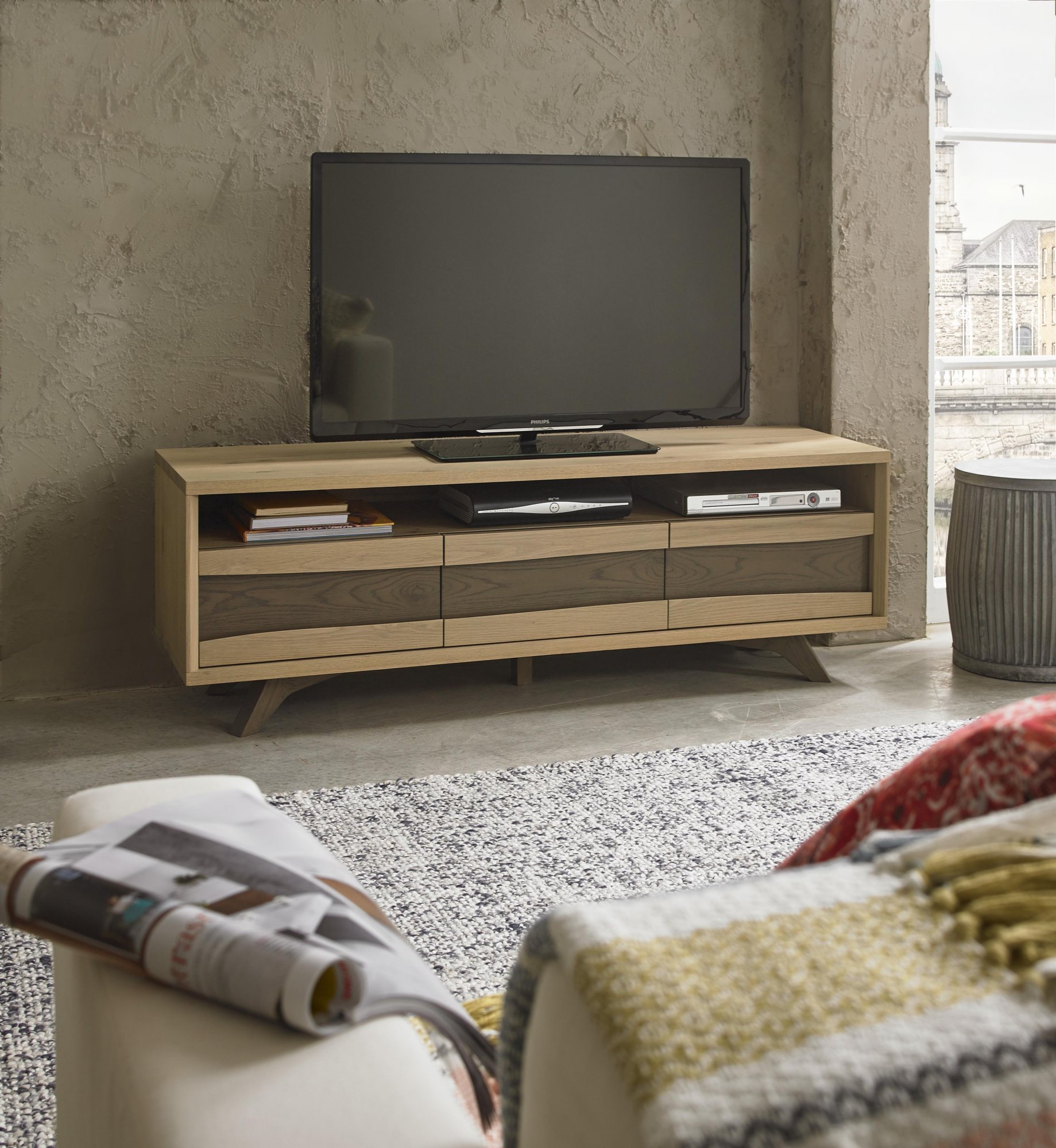 CARELL TV UNIT- L150cm x D45cm x H51cm