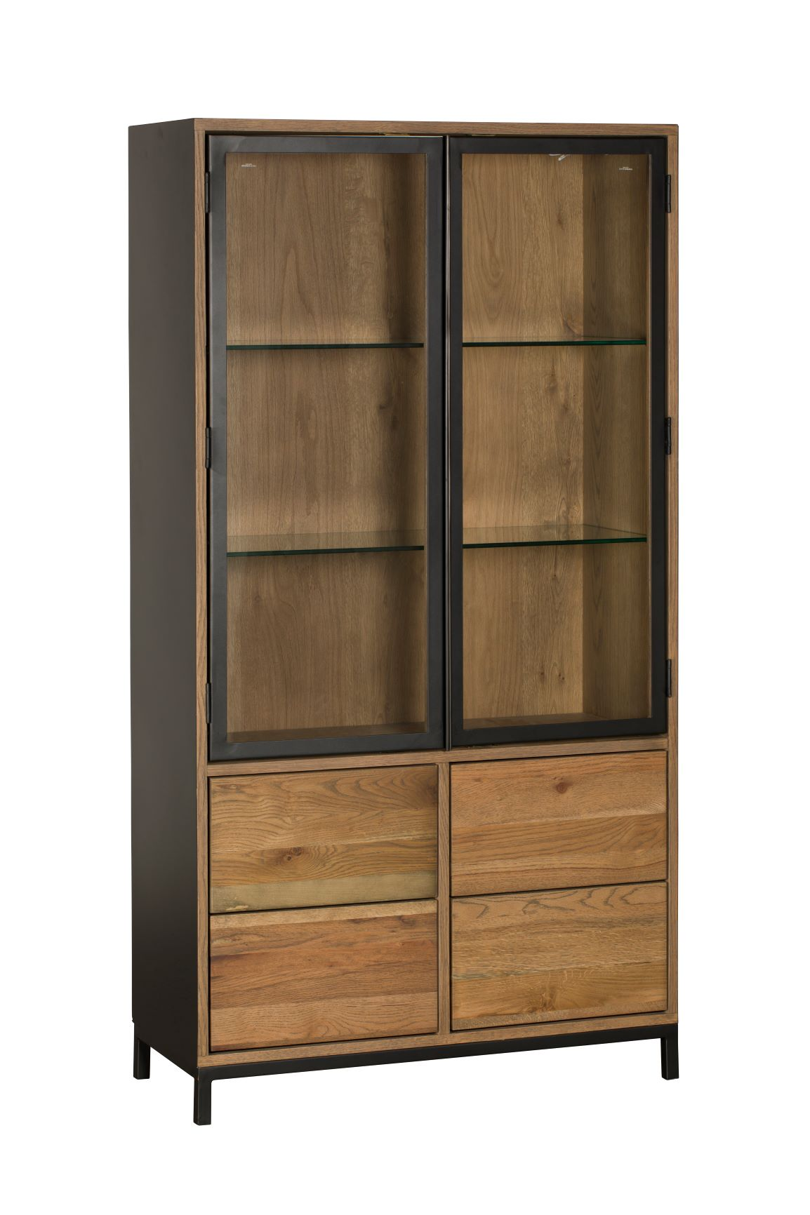 CARTER DISPLAY CABINET L90cm x D38cm x H170cm