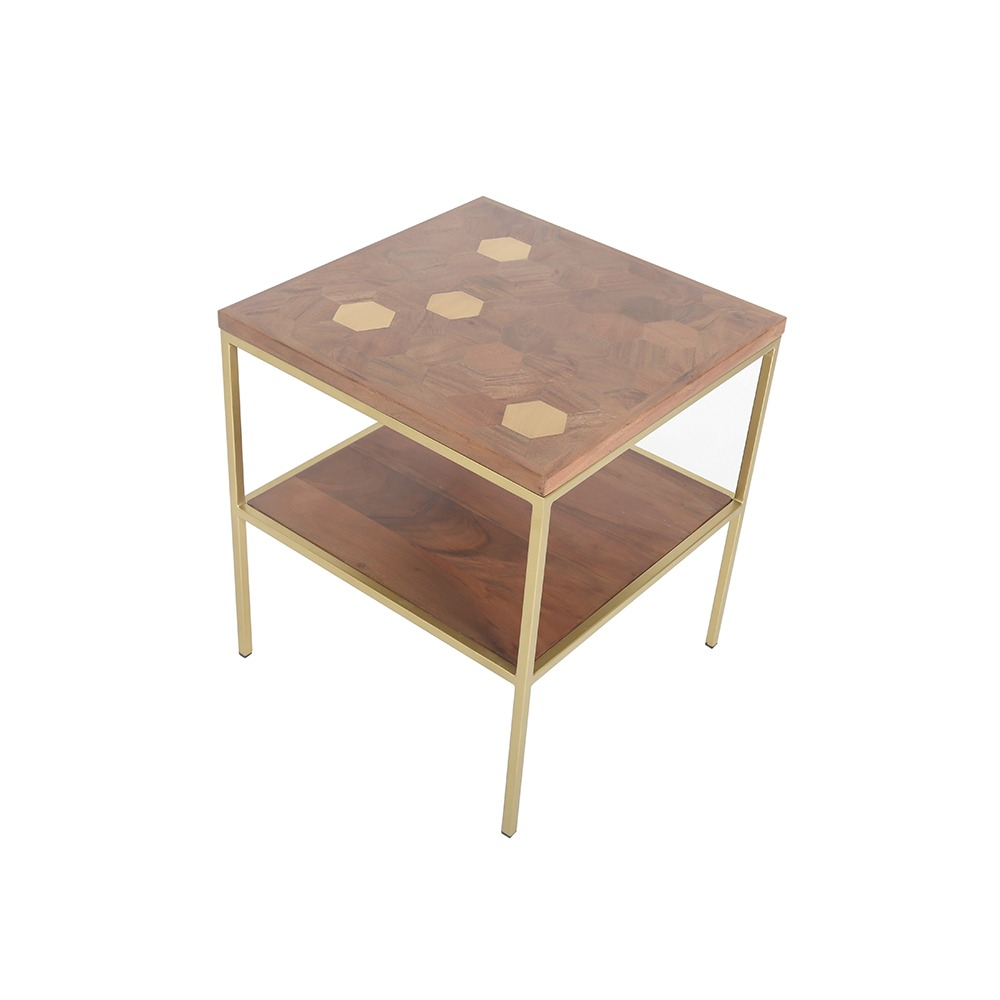 CASSIE LAMP TABLE -TOP DETAIL