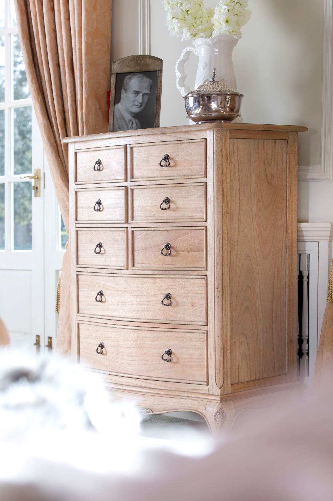 CLAREMONT TALL CHEST ANGLE DETAIL