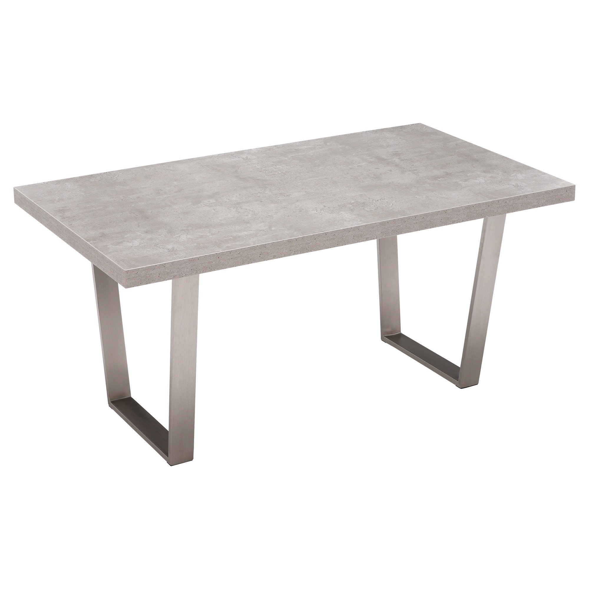 CONCRETE LOOK DINING TABLE - L200cm x D100cm x H75cm