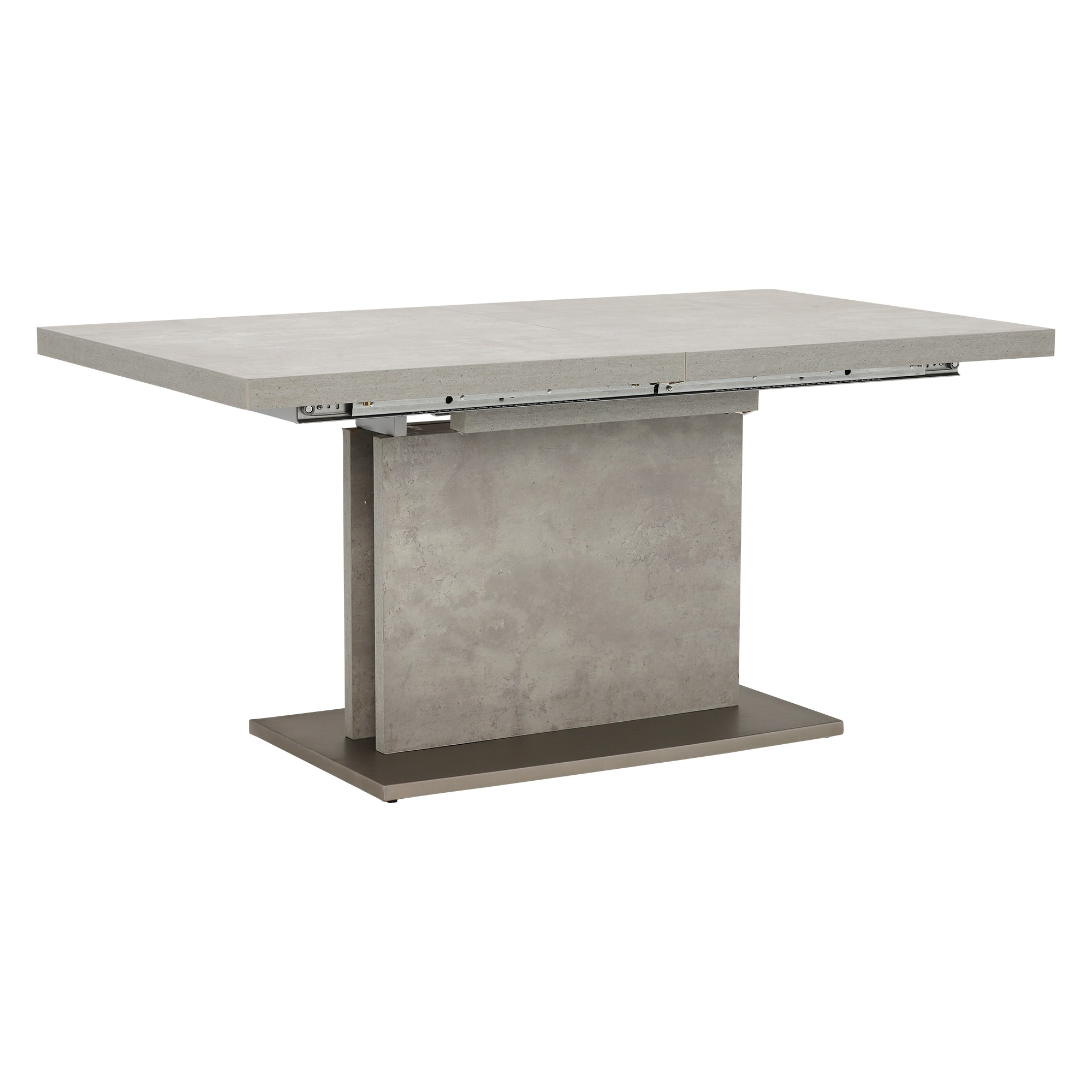 CONCRETE LOOK EXTENDING TABLE - ANGLE DETAIL