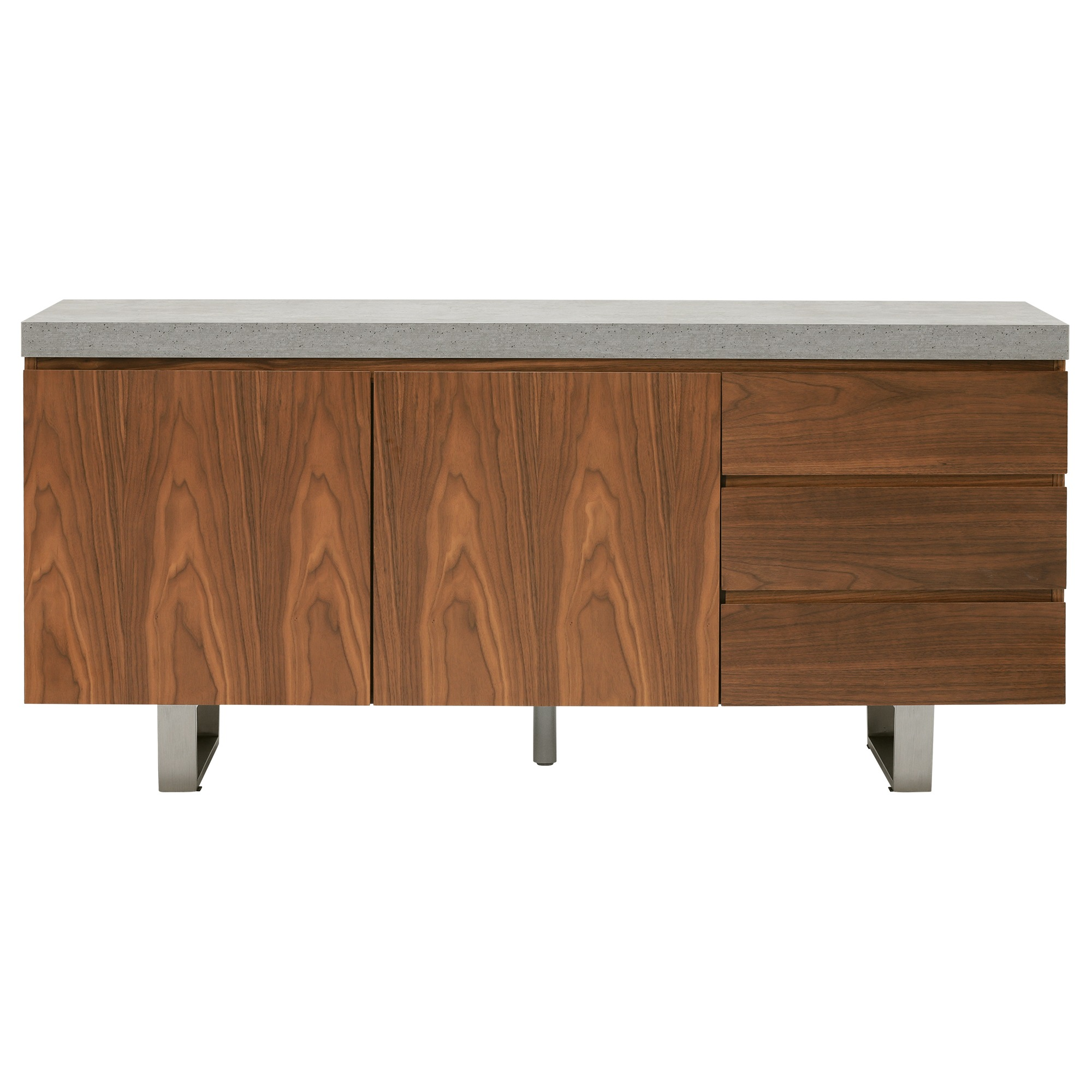CONCRETE LOOK SIDEBOARD - FRONT DETAIL