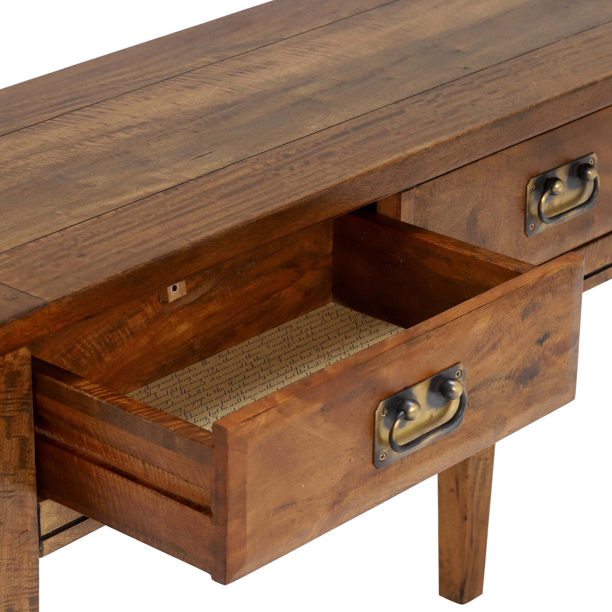 CONSOLE - DRAWER DETAIL