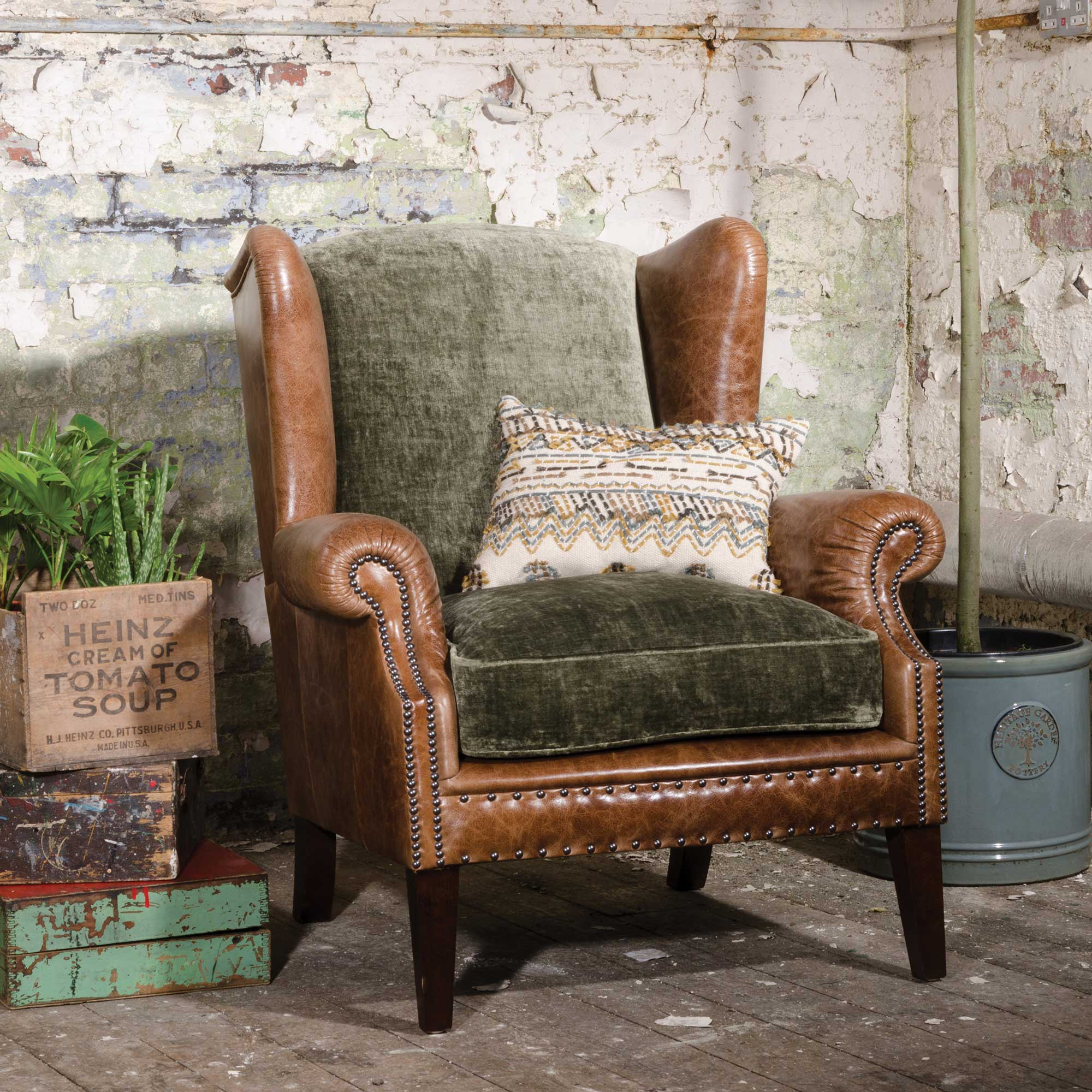 CONSTABLE WING CHAIR -