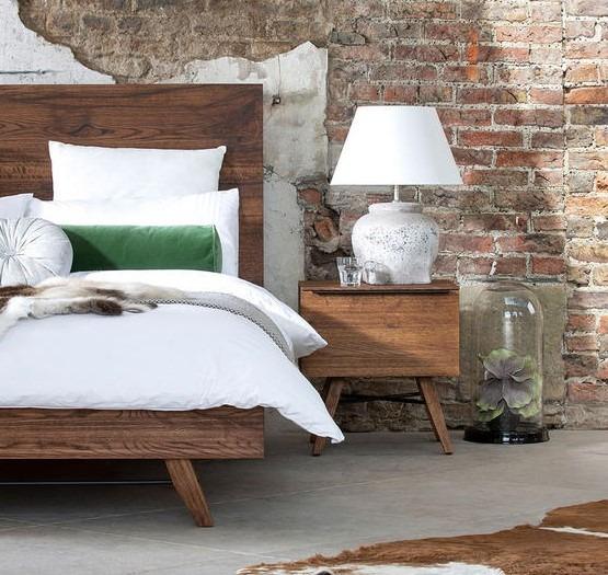 CORMAR OAK BEDSIDE - L50cm x D45cm x H53cm