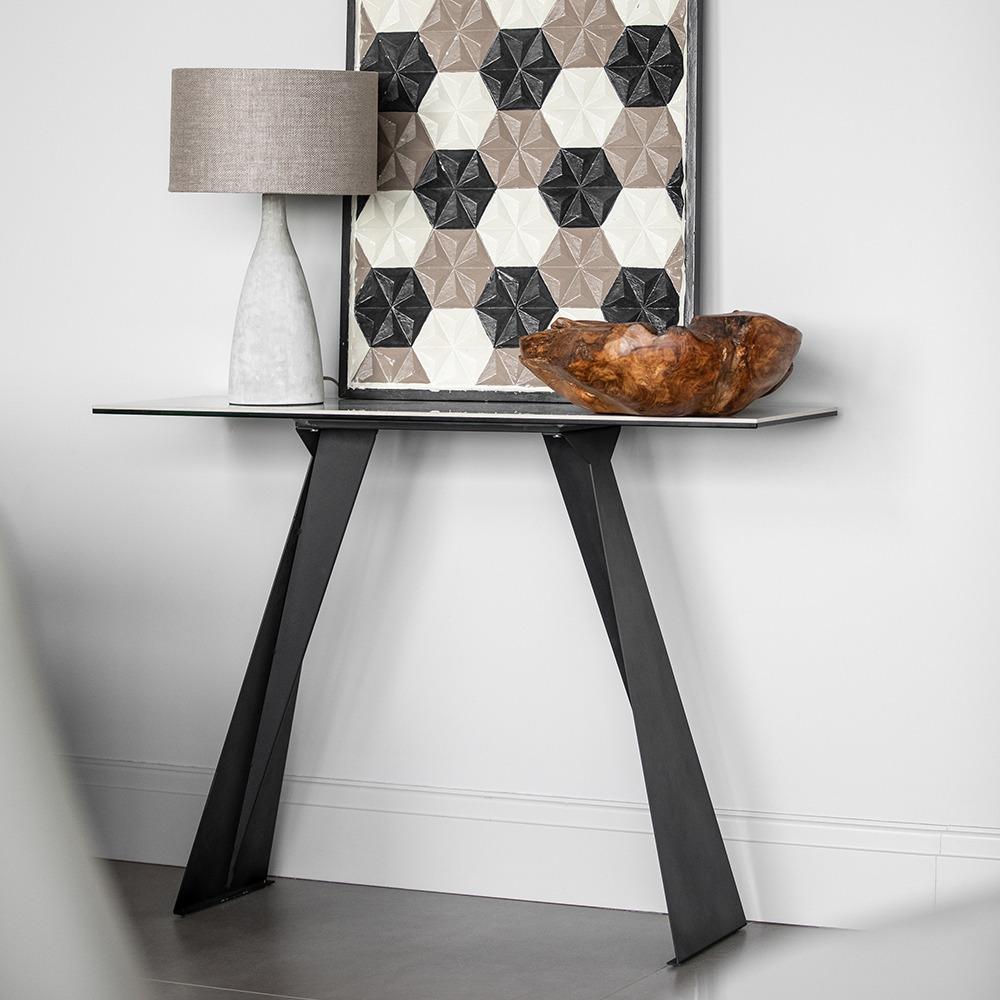 HAMMERSMITH CONSOLE TABLE -L110cm x D35cm x H80cm