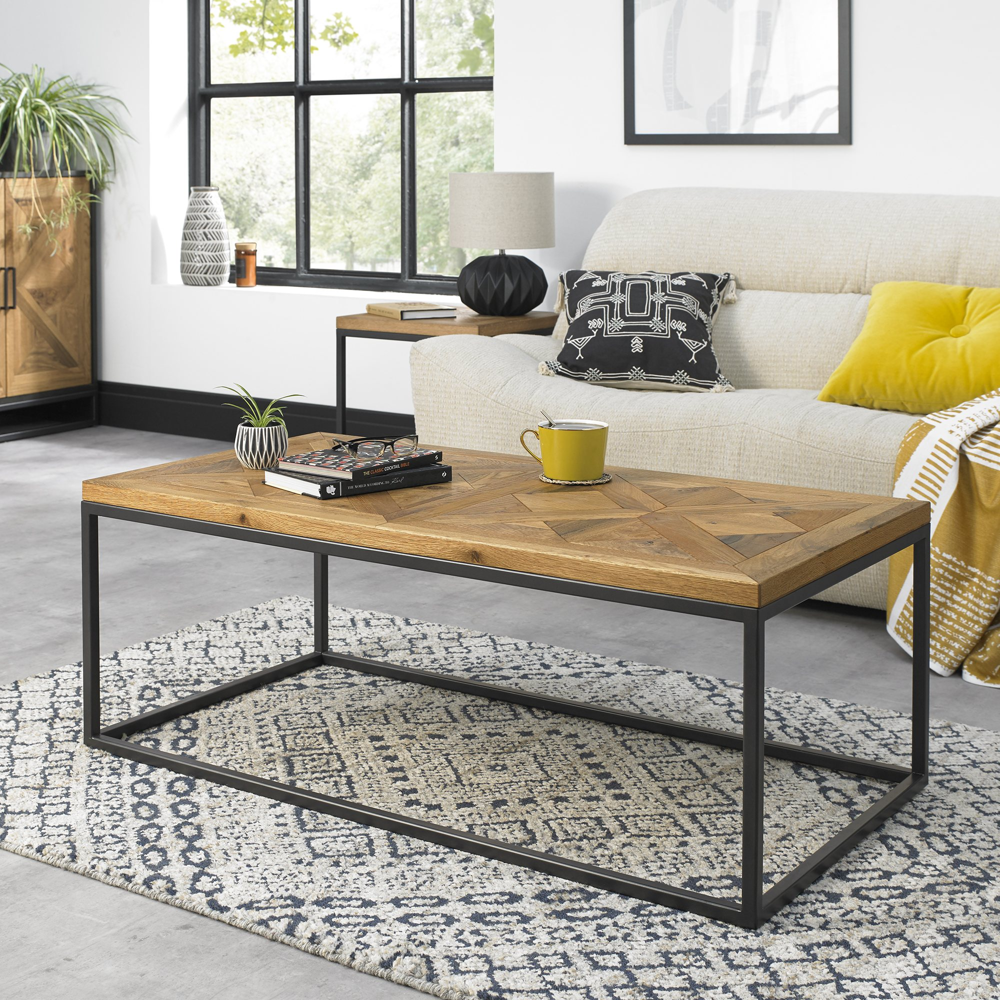 HELIX COFFEE TABLE  L114cm x D60cm x H42cm