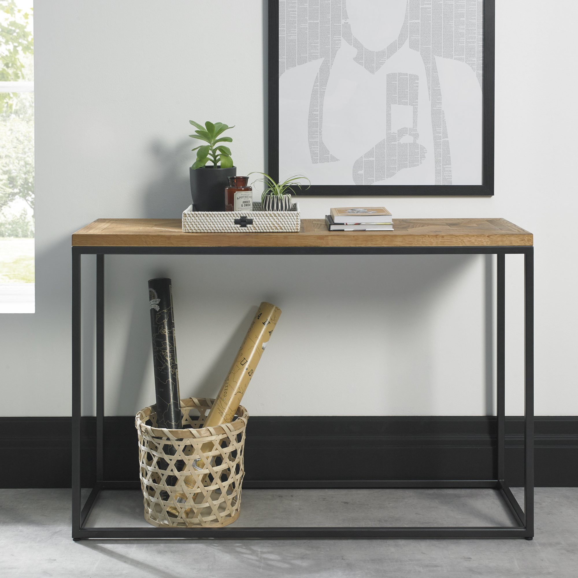 HELIX CONSOLE TABLE  L116cm x D37cm x H77cm