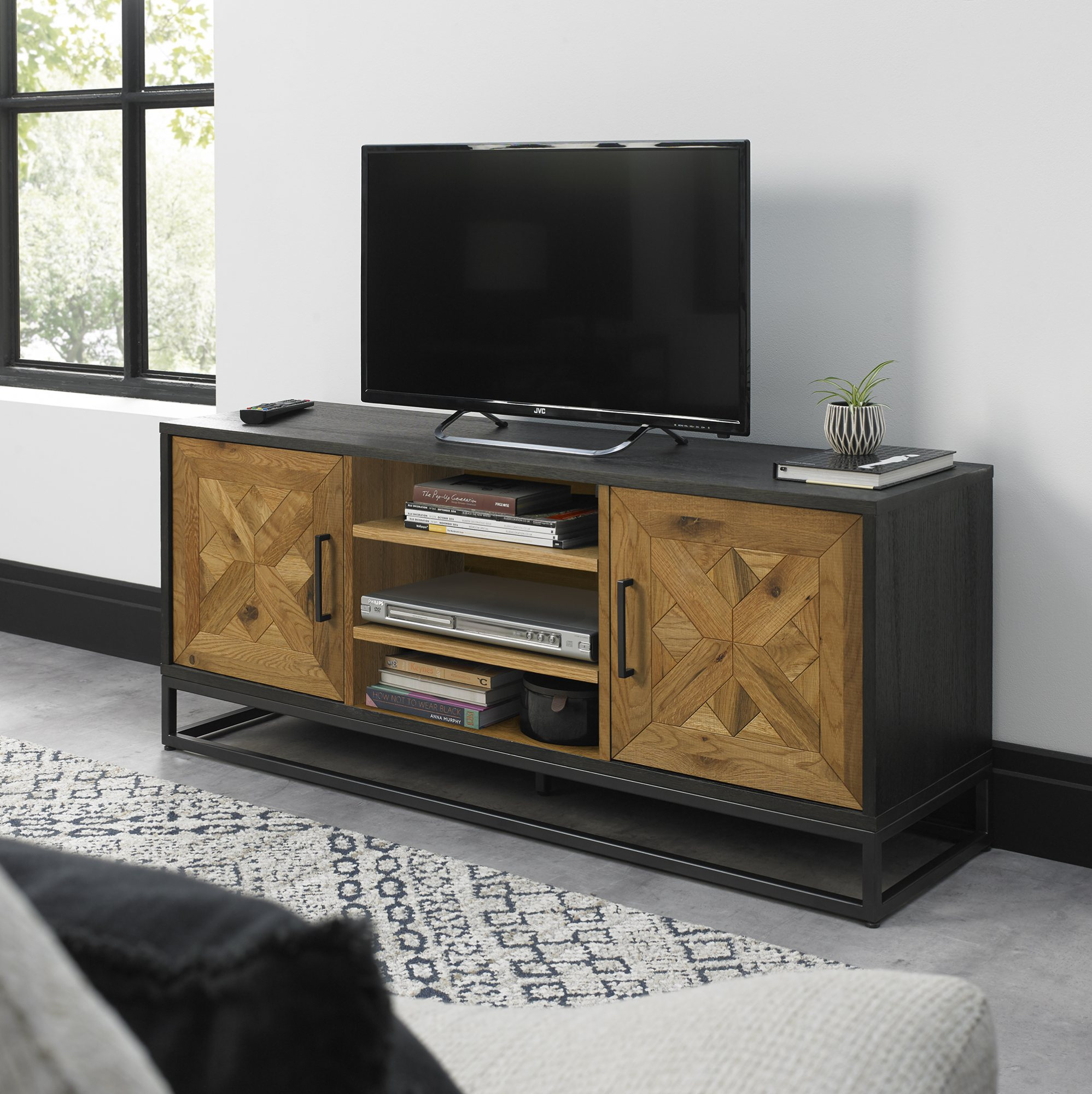 HELIX TV UNIT  L133cm x D38cm x H55cm